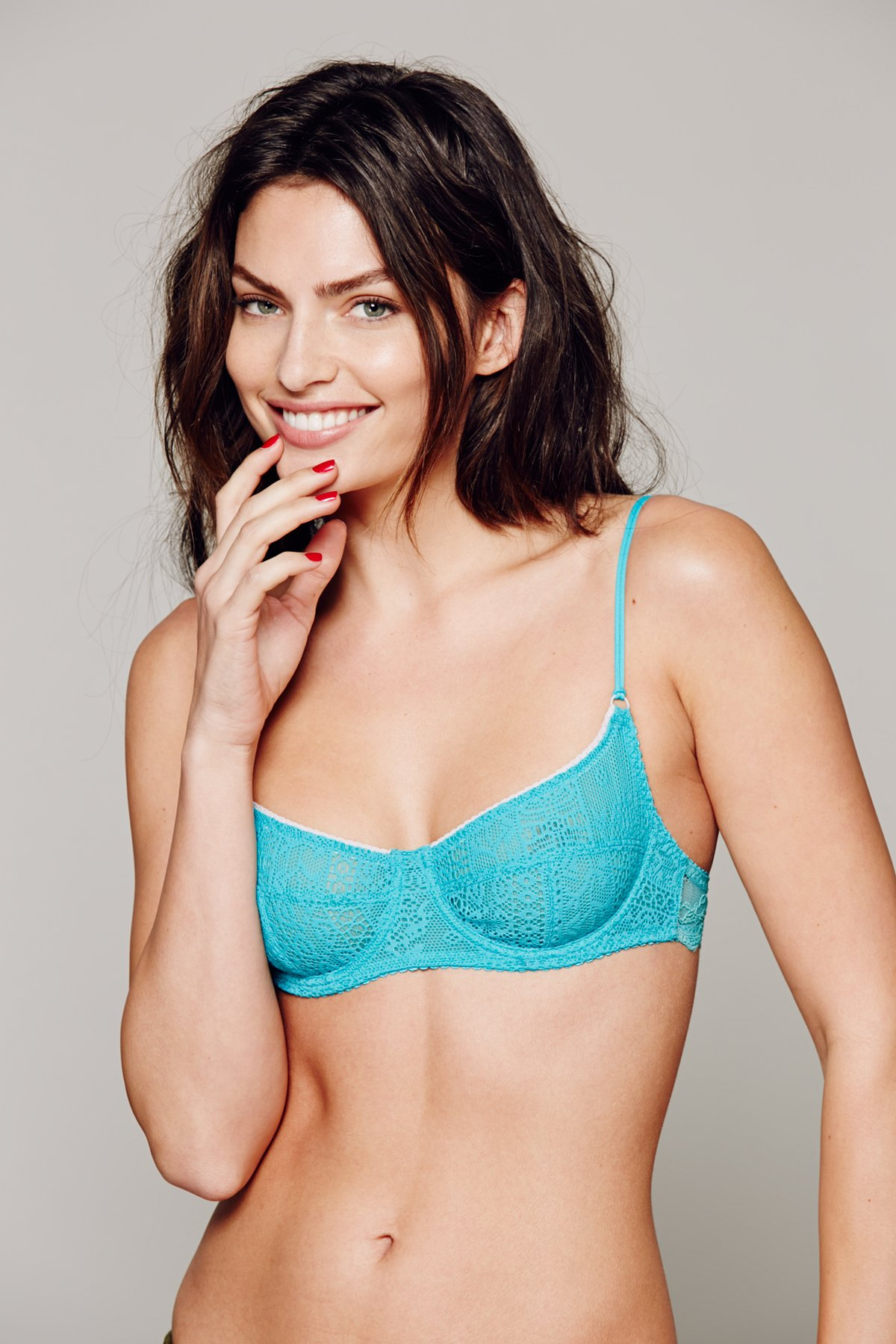 Cheeky Lace Bra