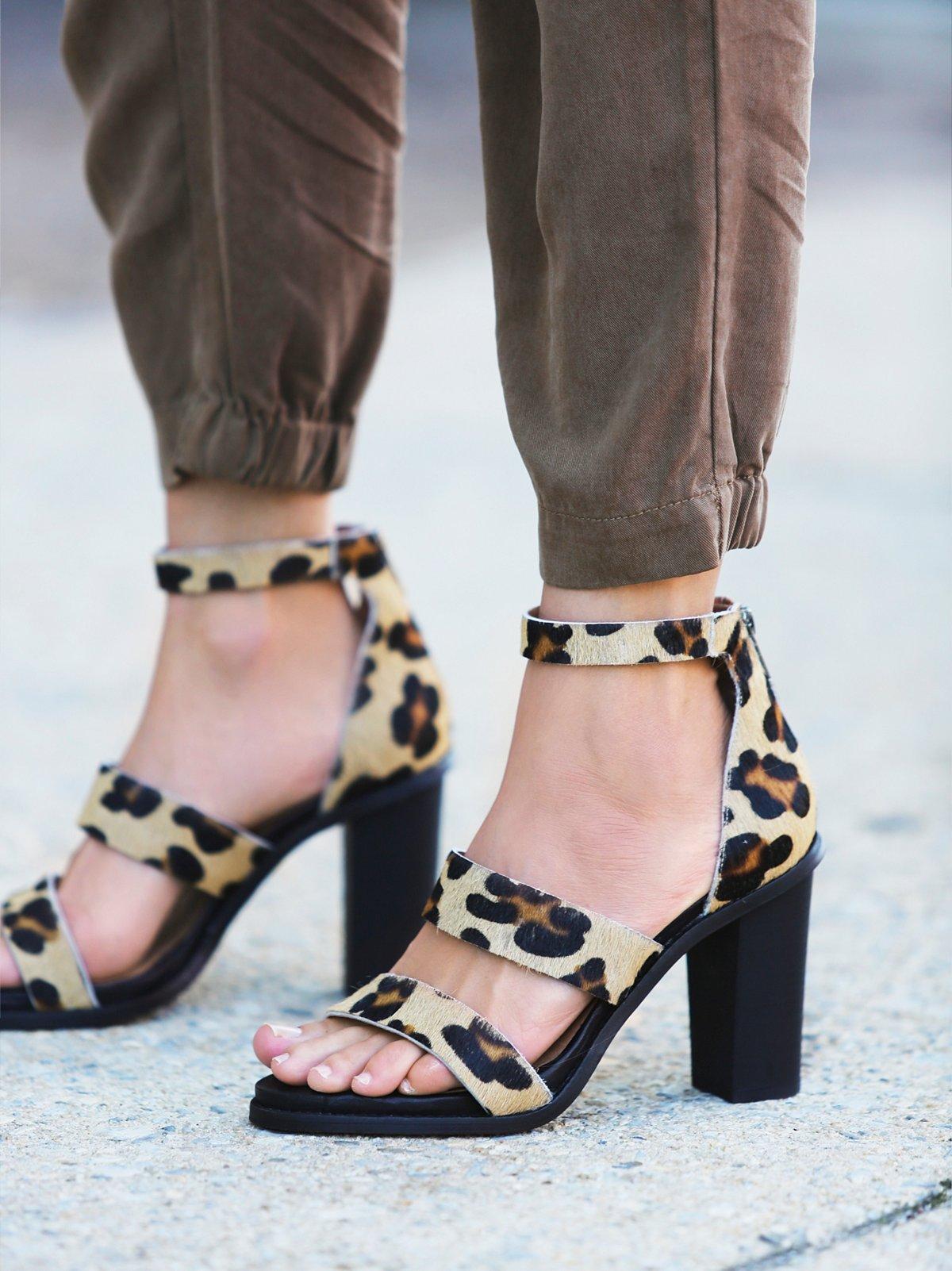 Leopard Loca Heel