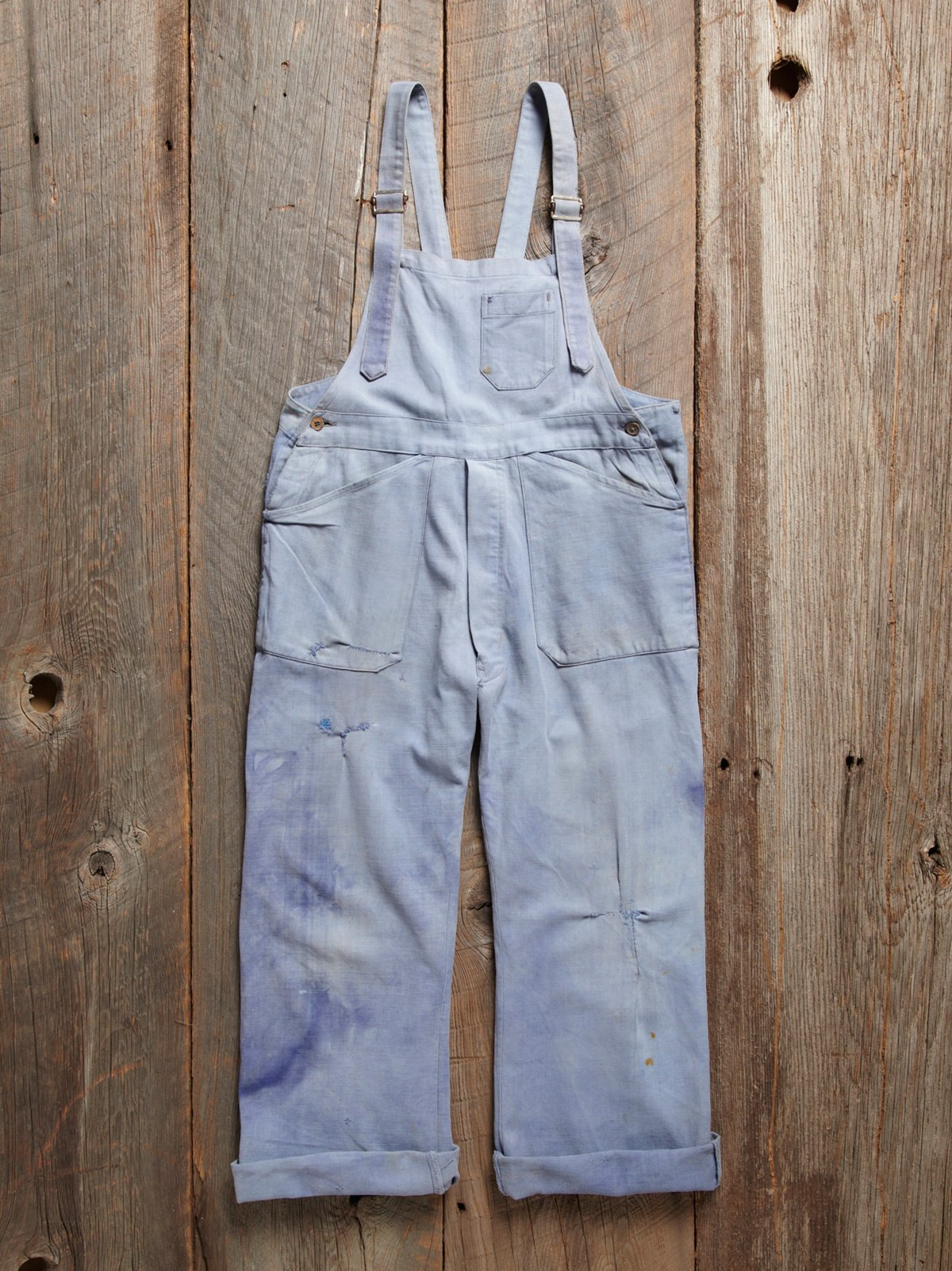 Vintage French Work Overall
