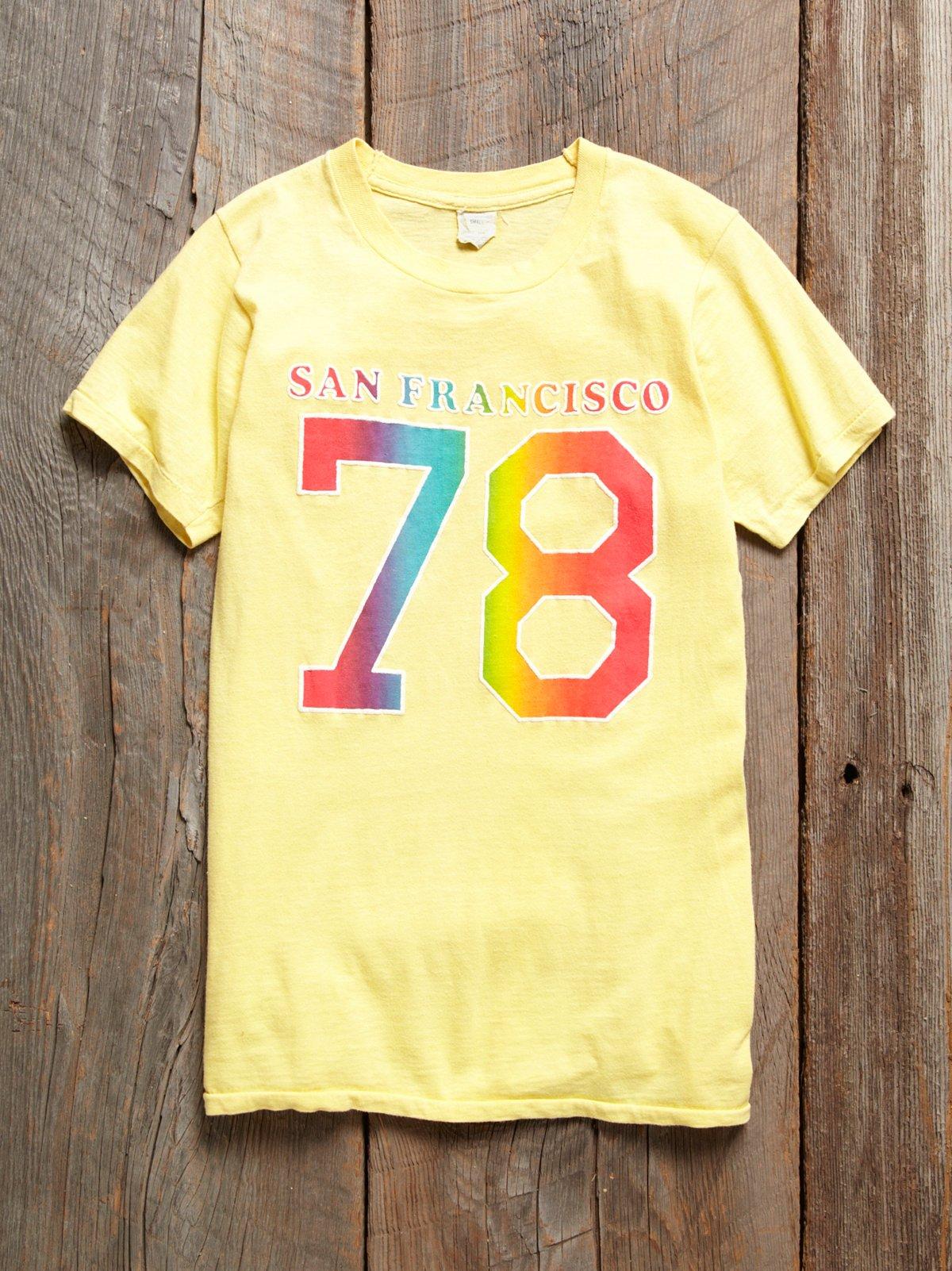 Vintage 1980s San Francisco T Shirt