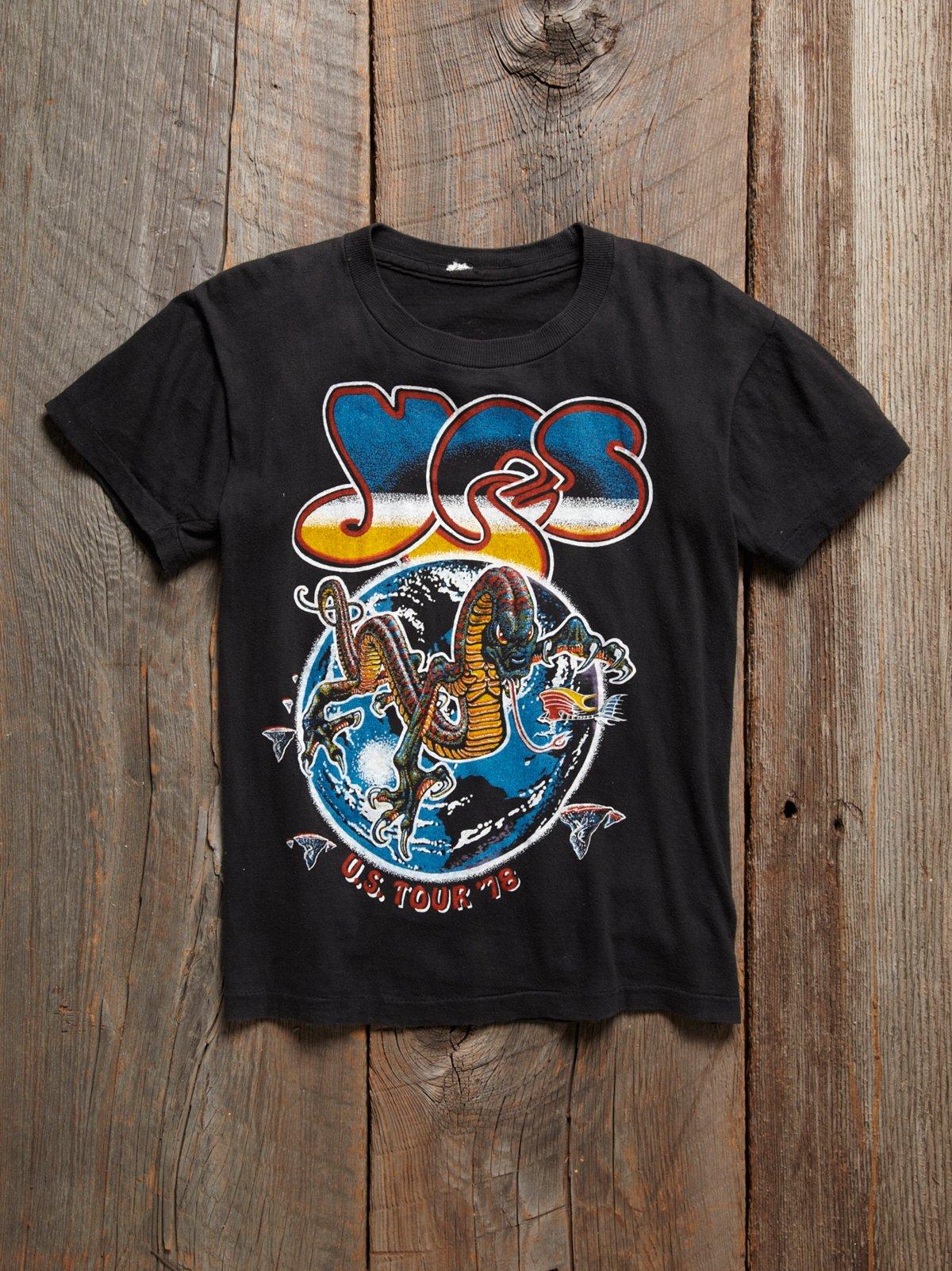Vintage 1978 Yes Tour Tee