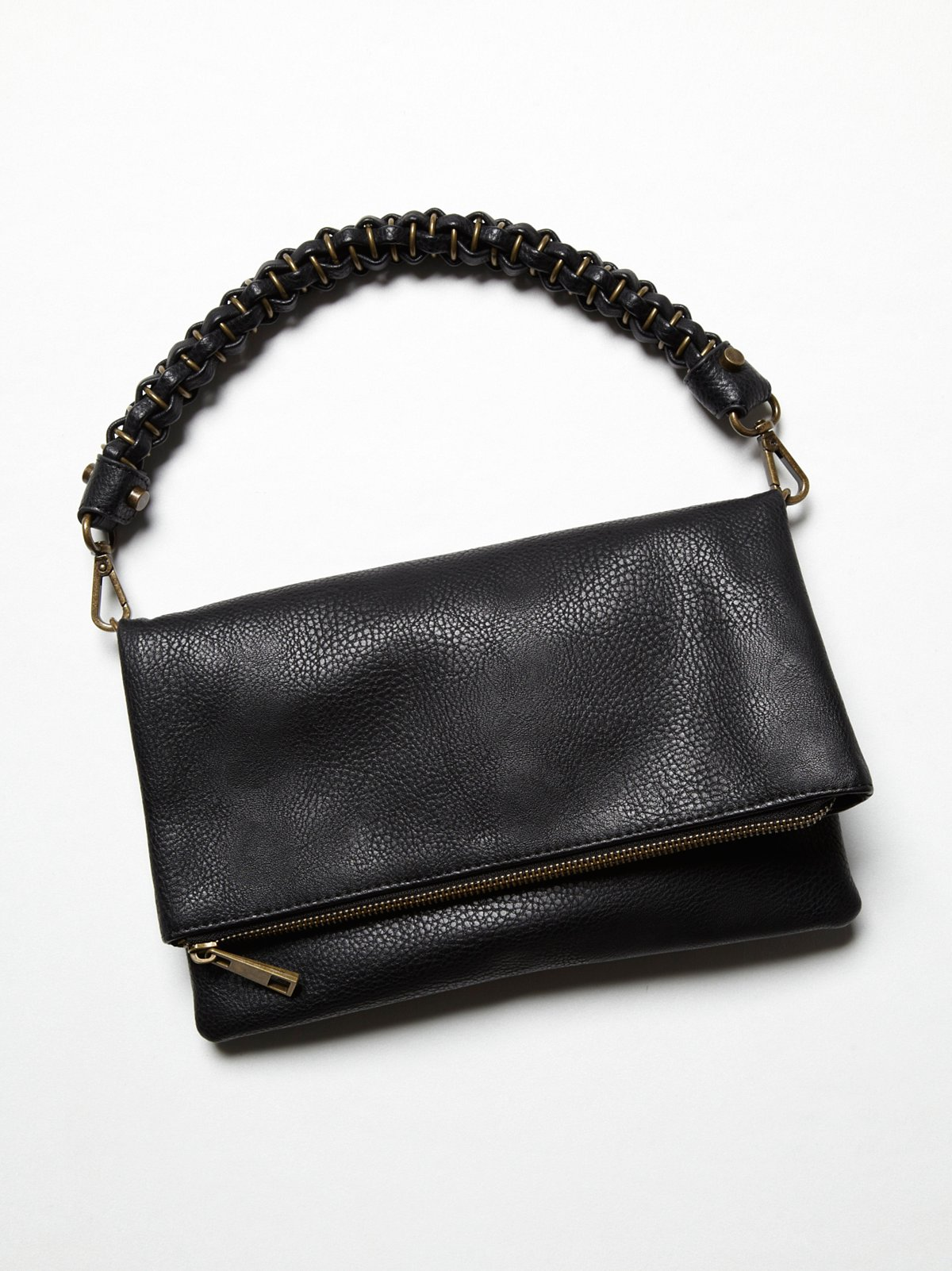 Vegan Foldover Clutch