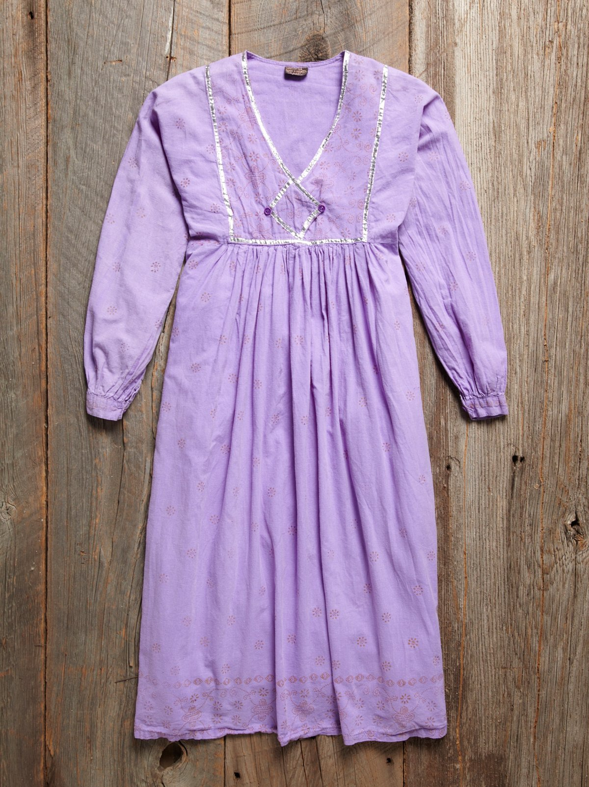 Vintage Cotton and Gauze Dress