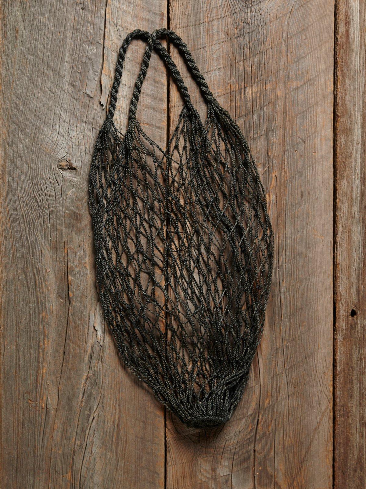Vintage Indigo Net Bag
