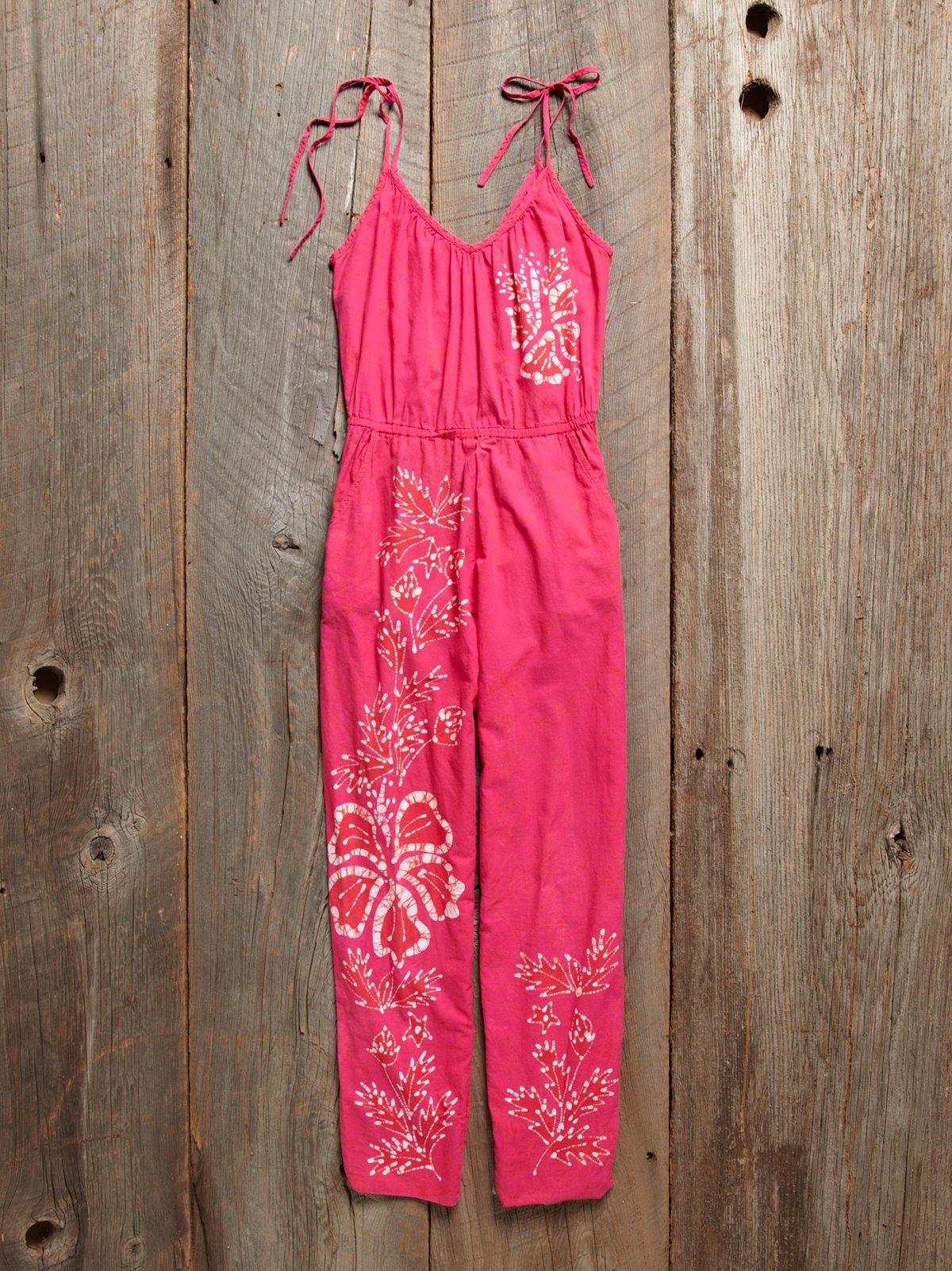 Vintage 1980s Cotton Jumpsuit