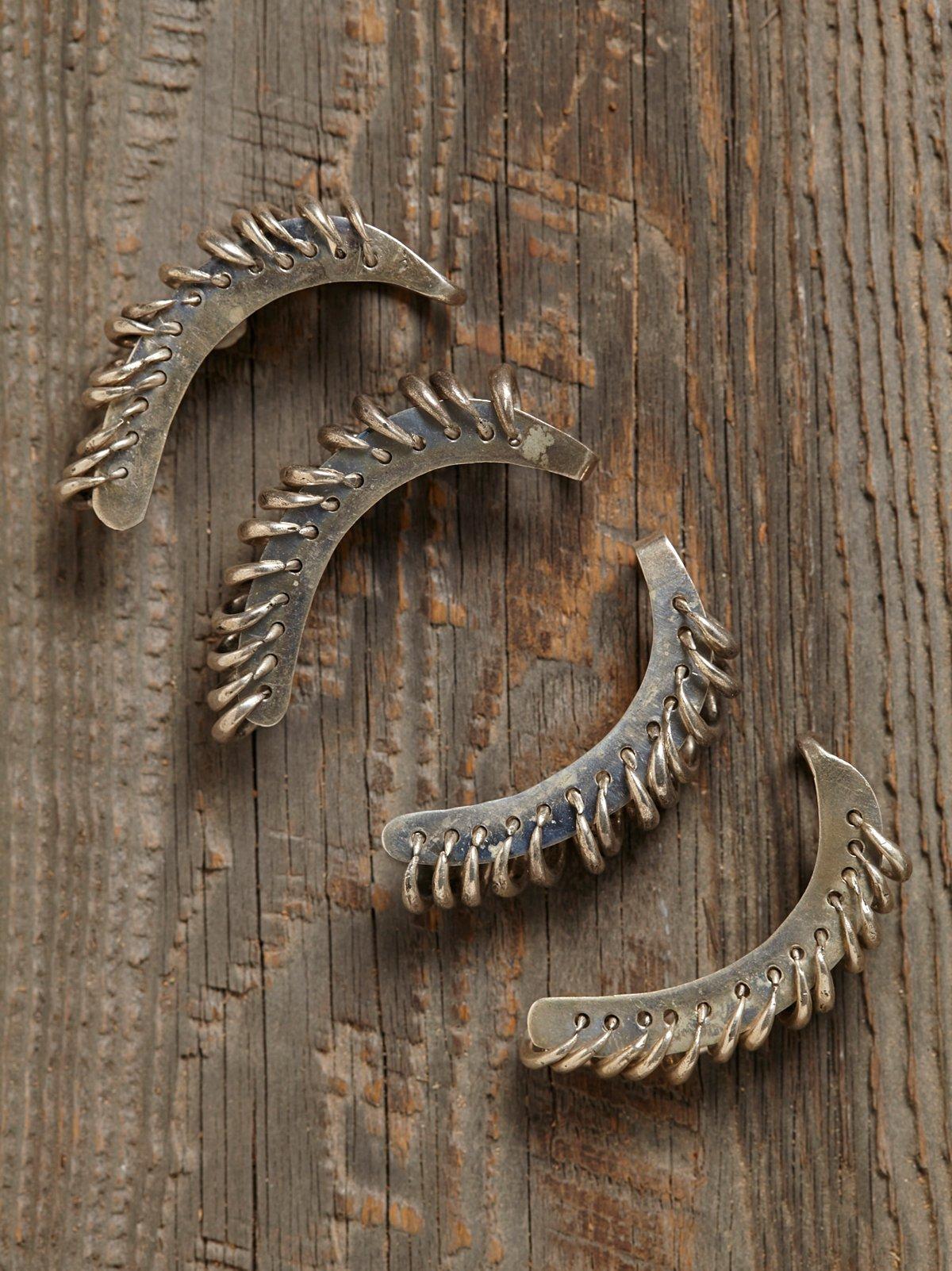 Vintage Ring Ear Cuffs