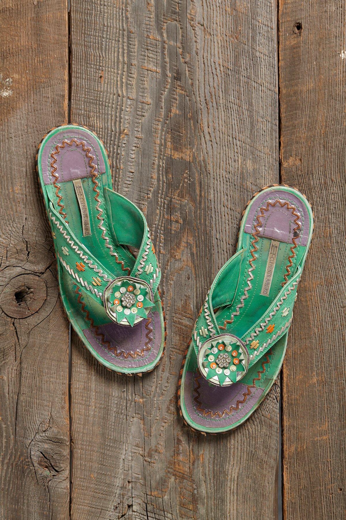 Vintage Stiched Sandals