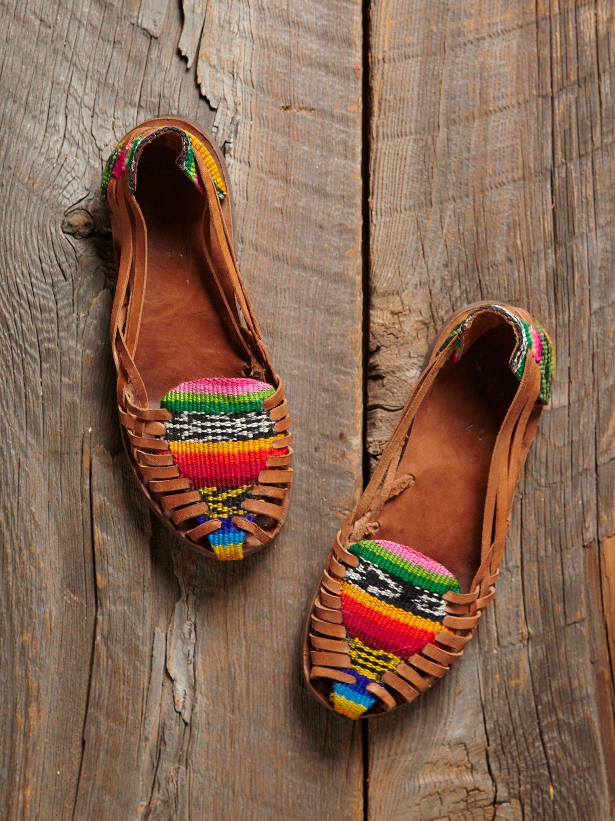 Vintage Hurrache Sandals