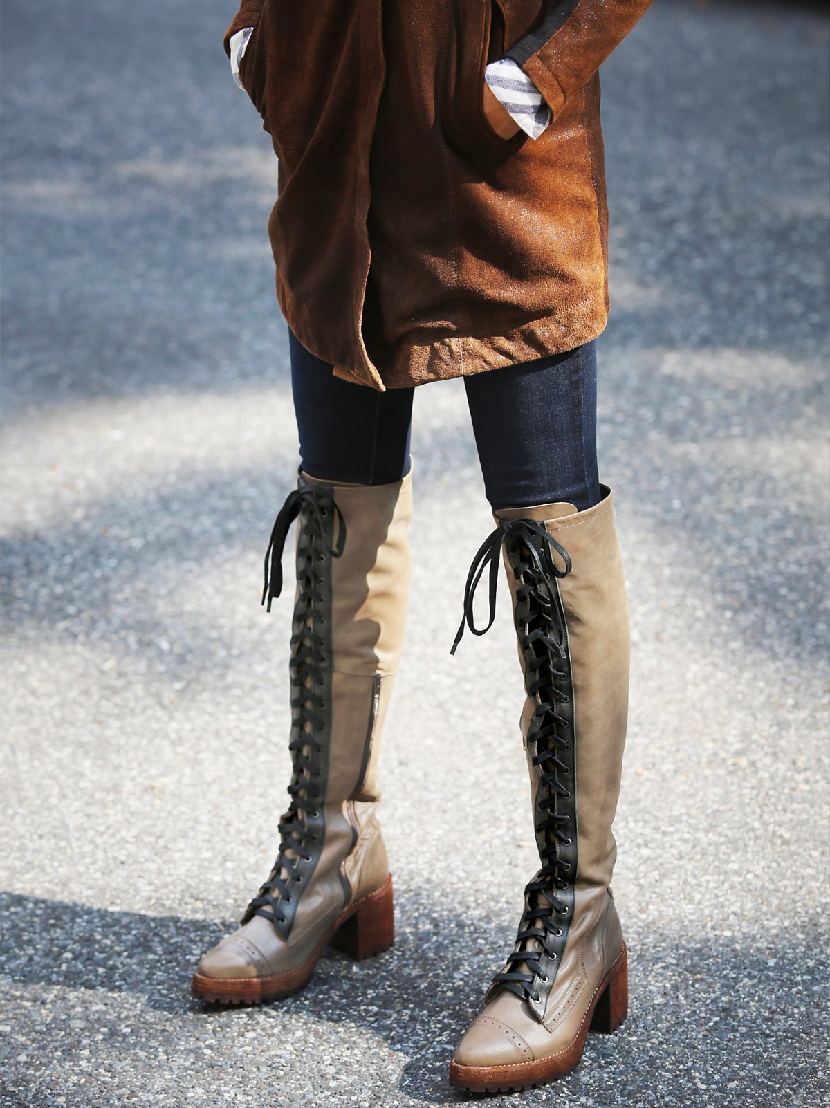 Geron Lace Up Boot