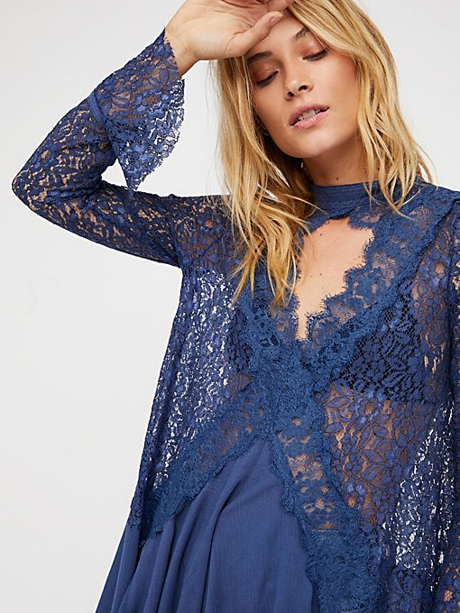 Product Image: Secret Origins Pieced Lace Tunic