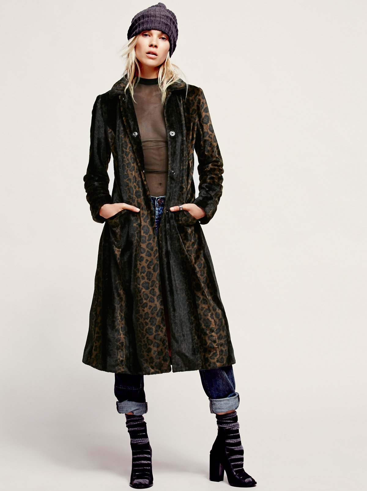 Leaping Leopard Coat