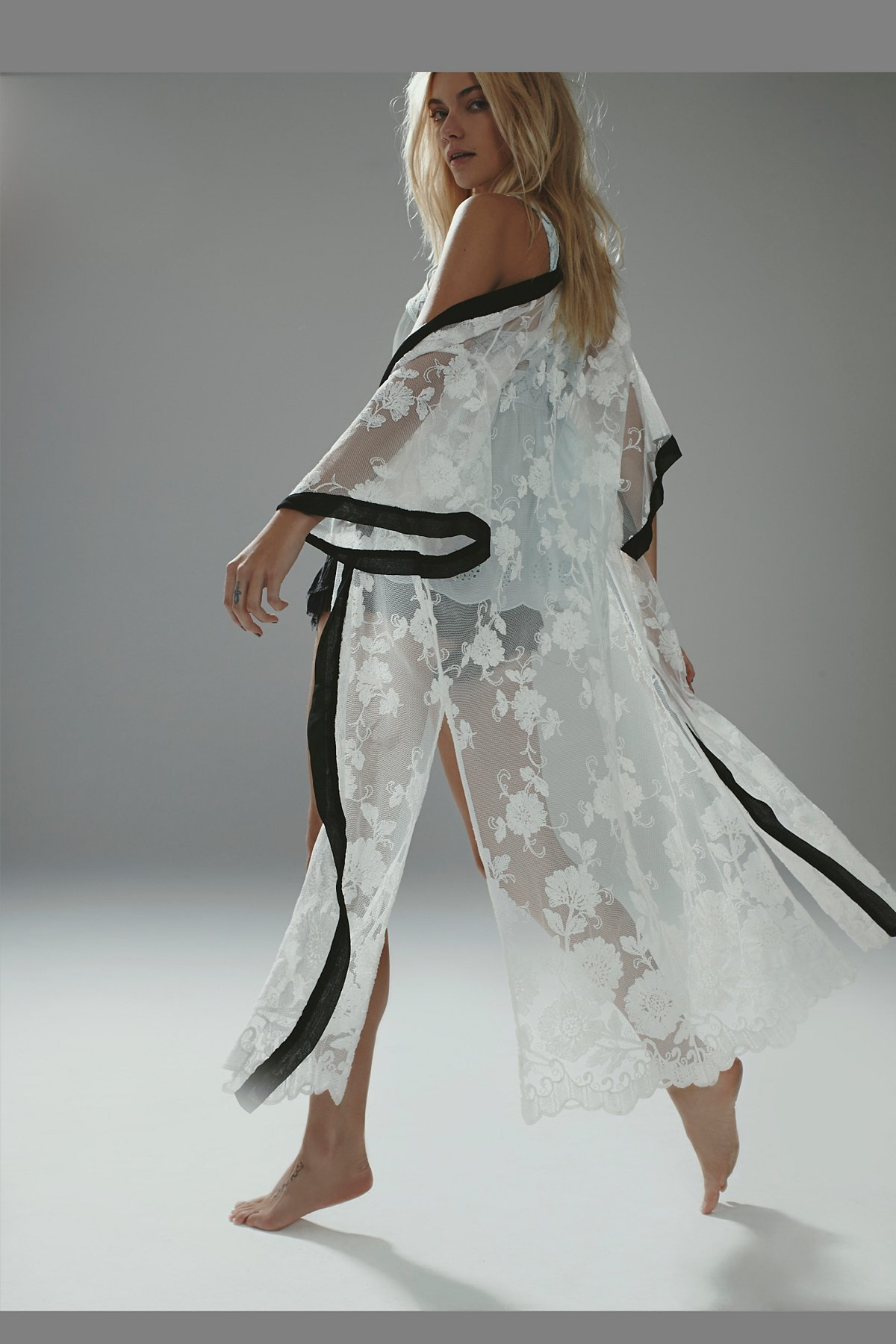 FP X Boudoir Lace Kimono