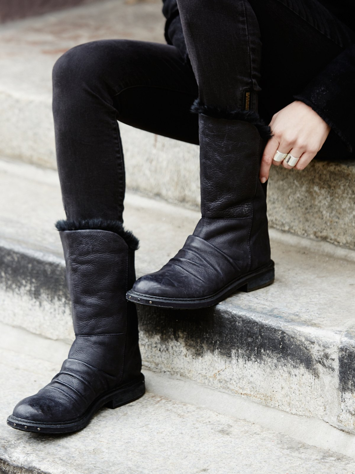 Rooke Shearling Mid Boot