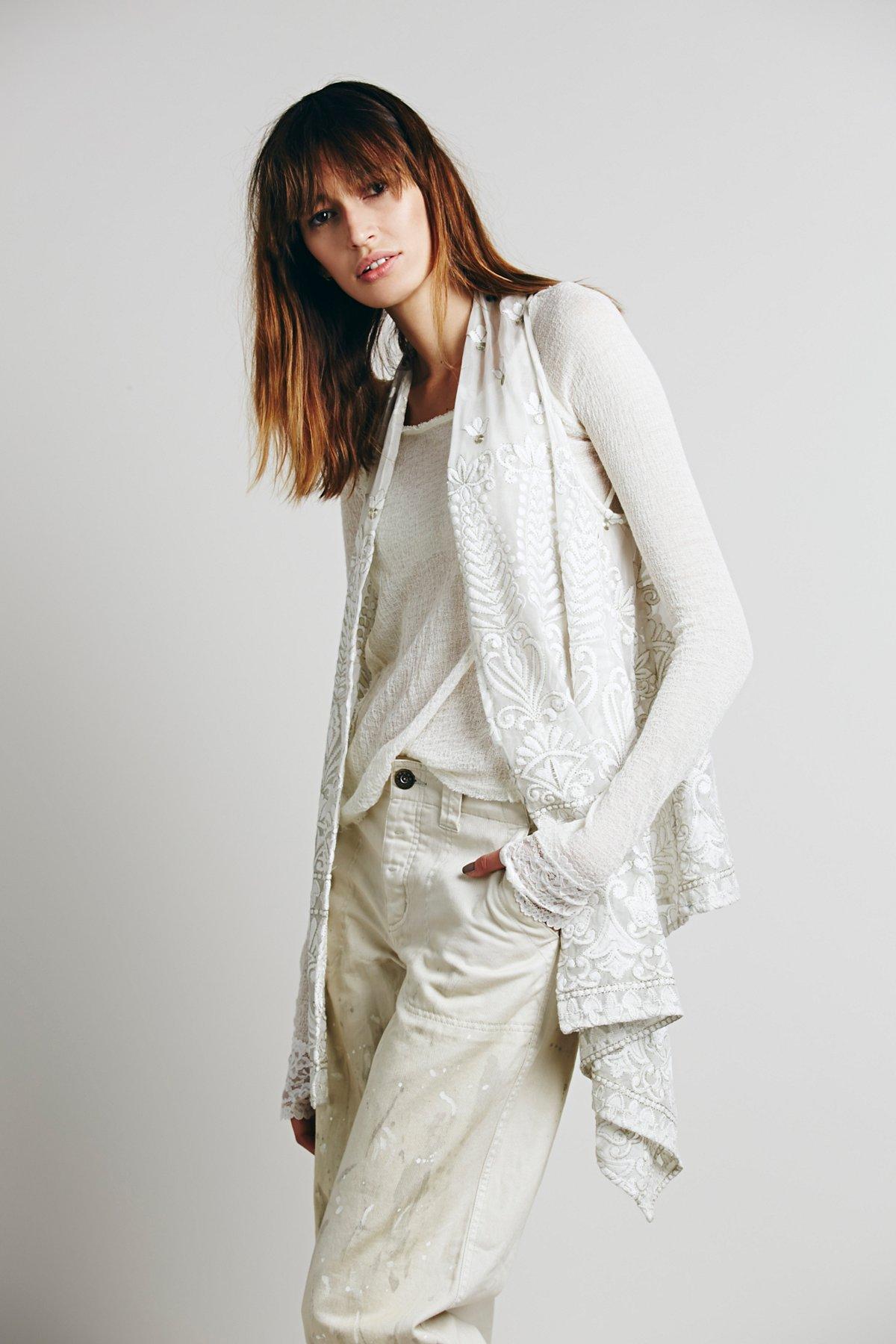 Florence Embroidered Vest