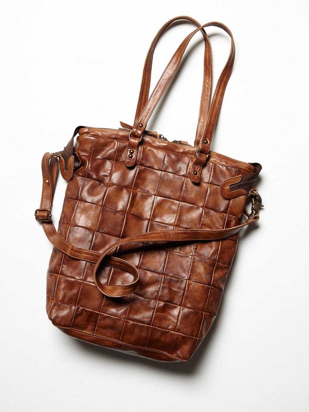 Grove皮革手提包