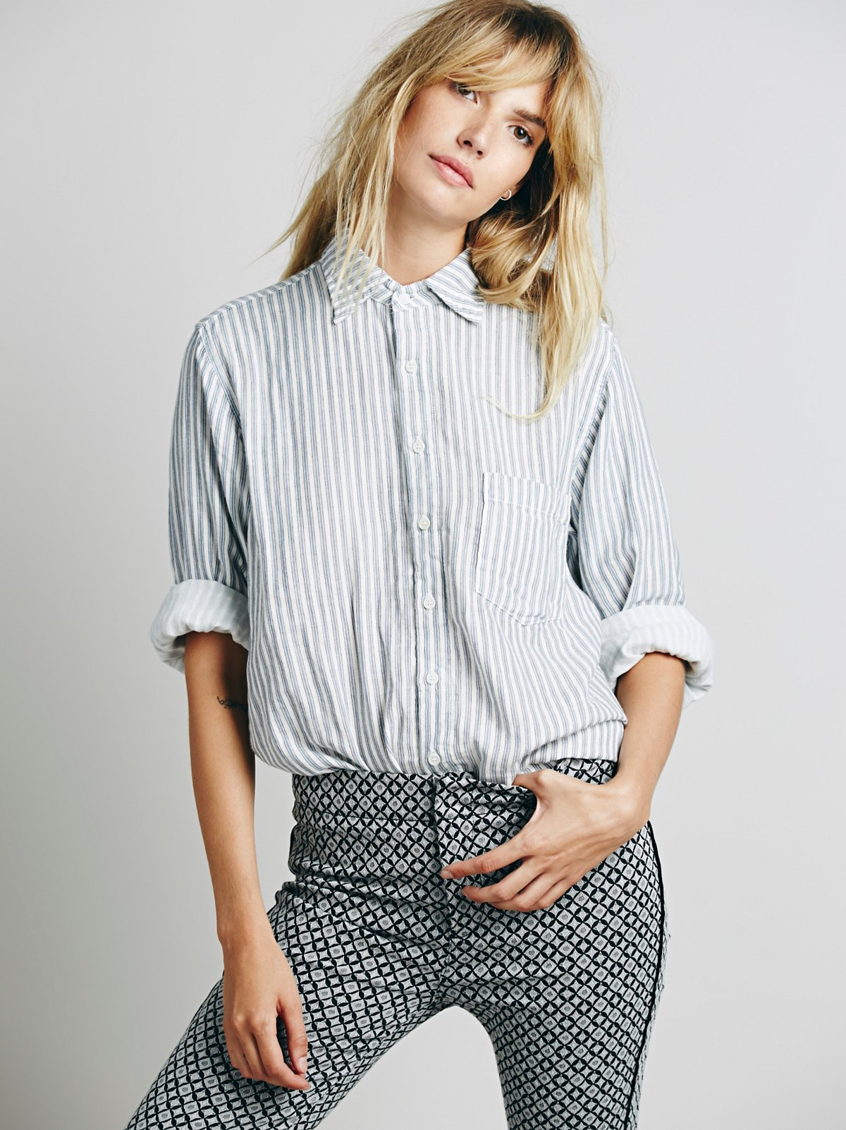 Stripe Boyfriend Shirt