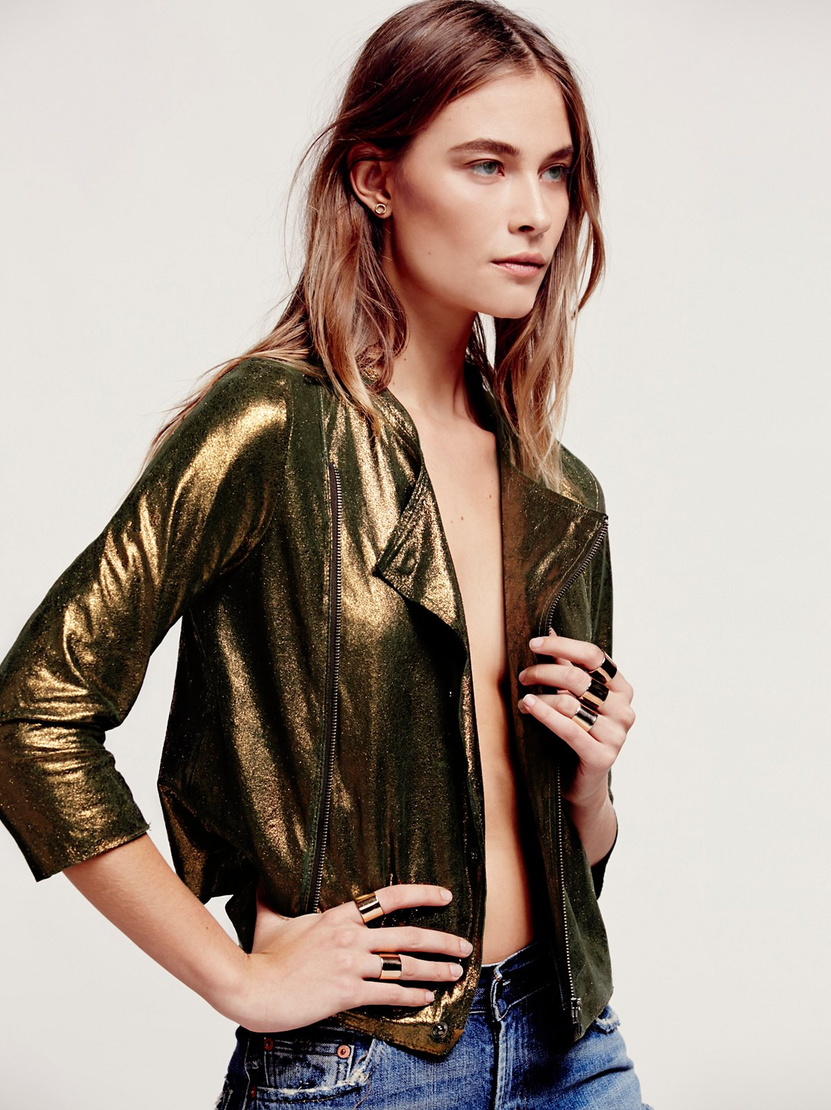 Bright Light Leather Jacket