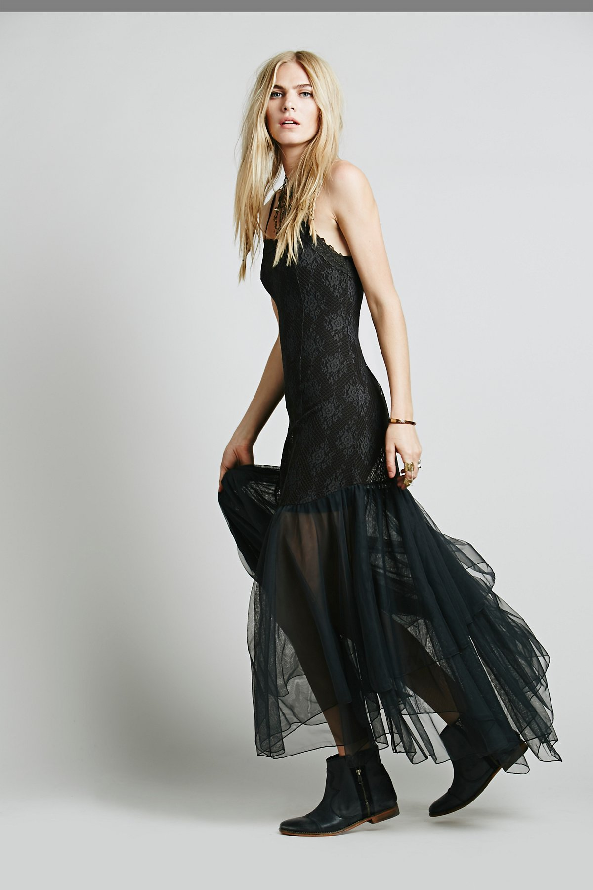 After Hours Lace Maxi