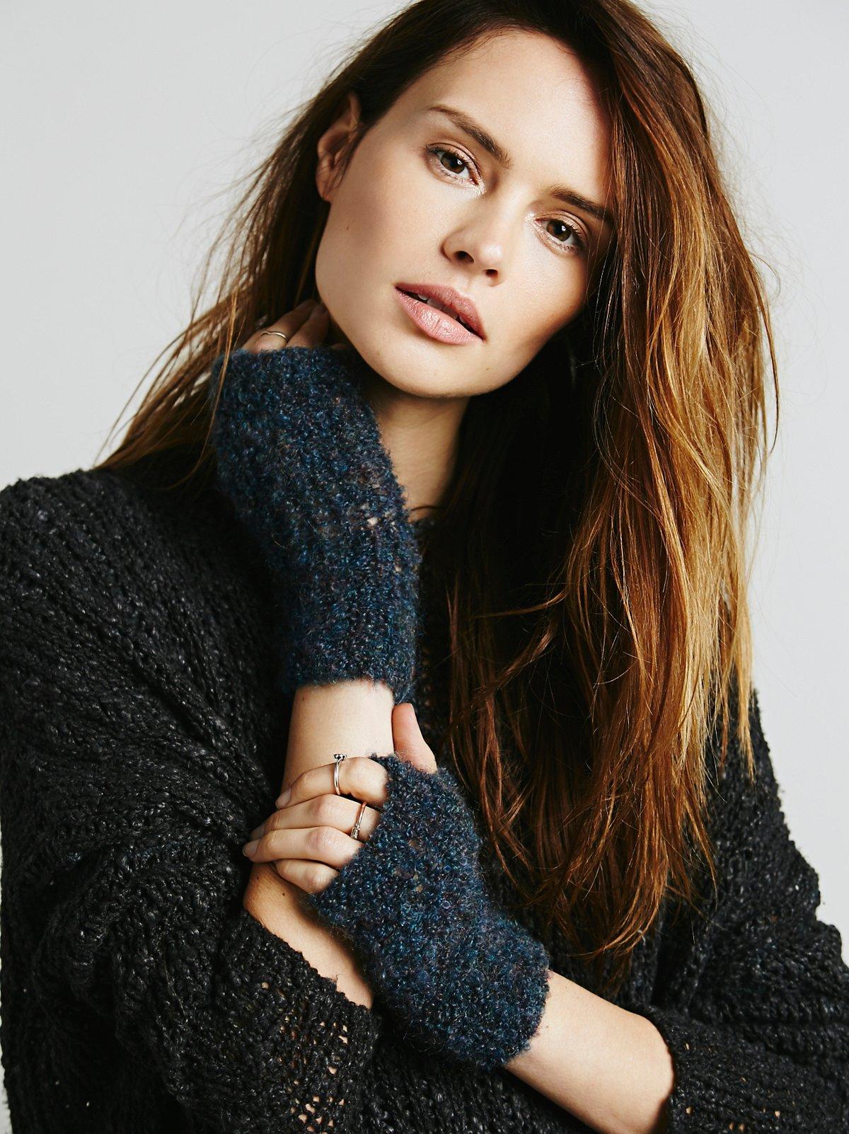 Drifter Fingerless Knit Glove