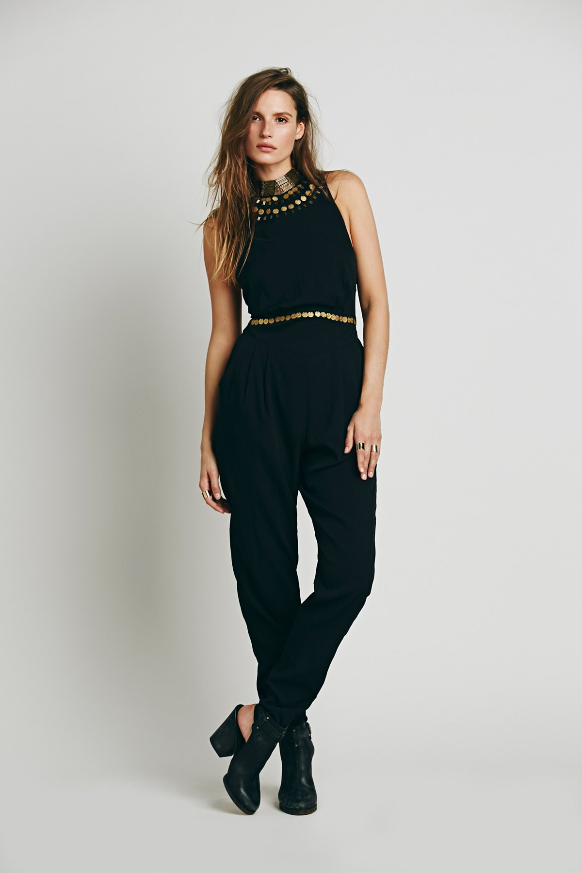 Embellished Catsuit