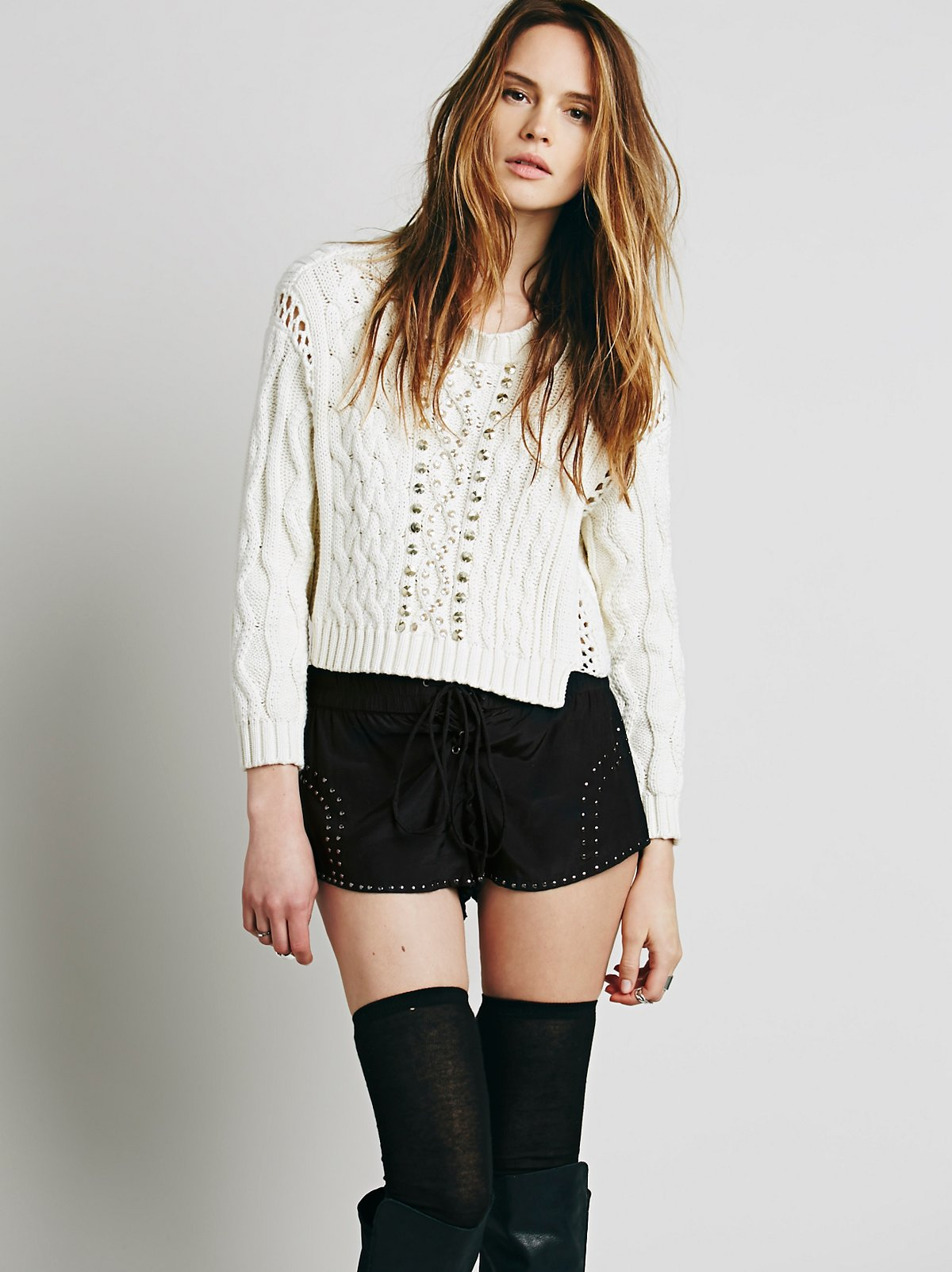 Grace Kelly Studded Short