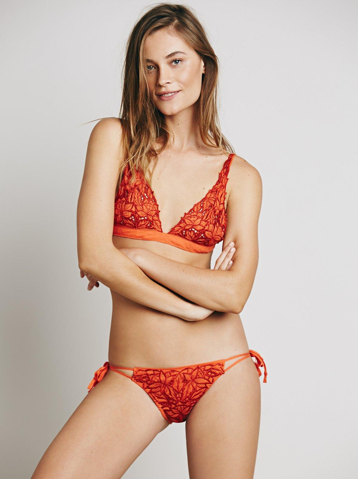 Love Fox蕾丝泳裤