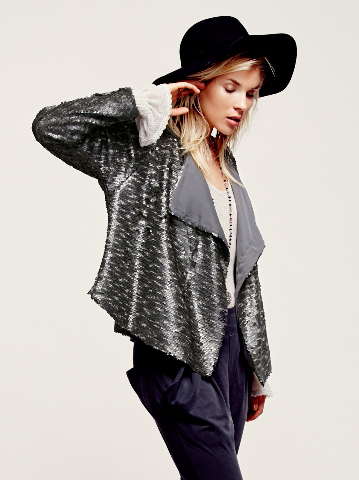 Drippy Sequin Jacket