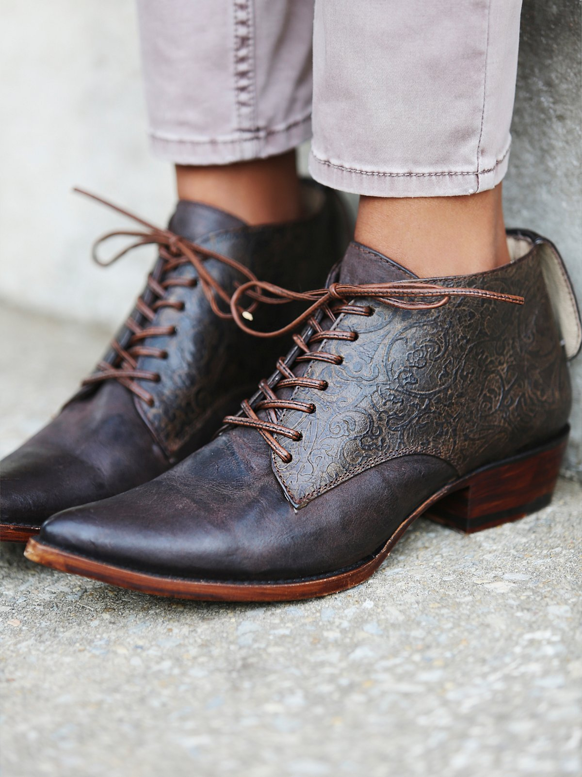 Arlo Embossed Boot
