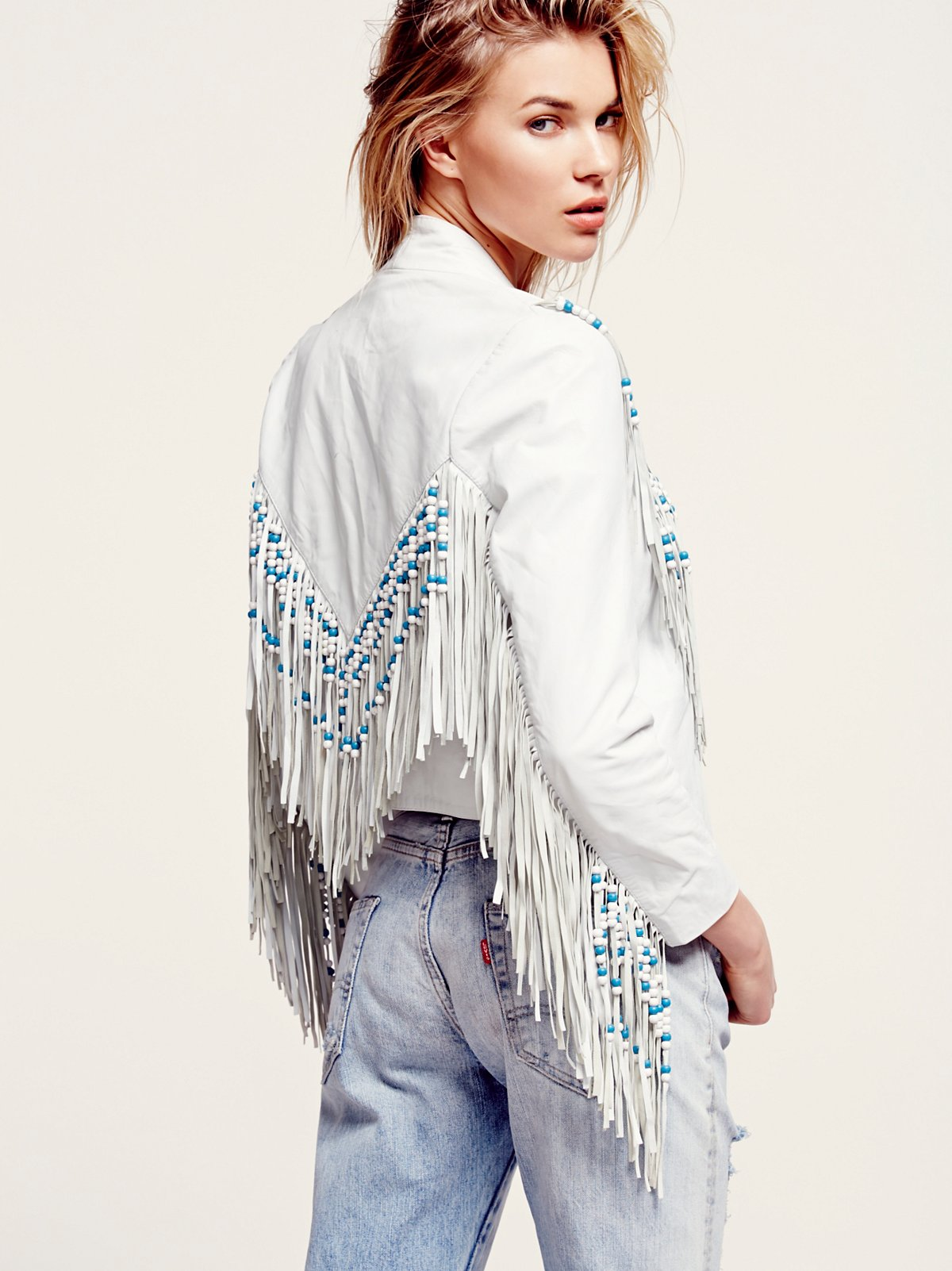 Hendrix Fringe Leather Jacket