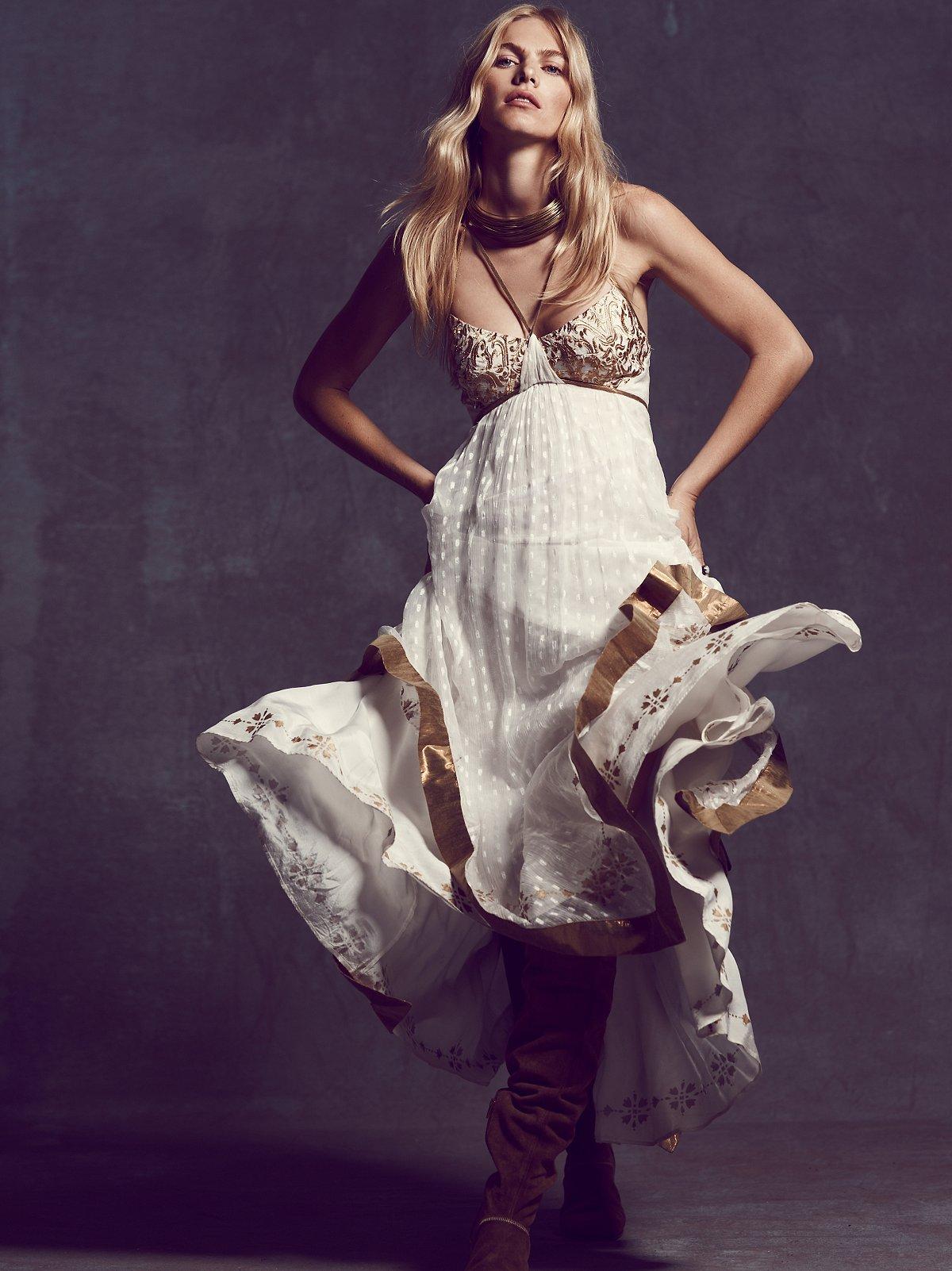 Snowfall Maxi Dress