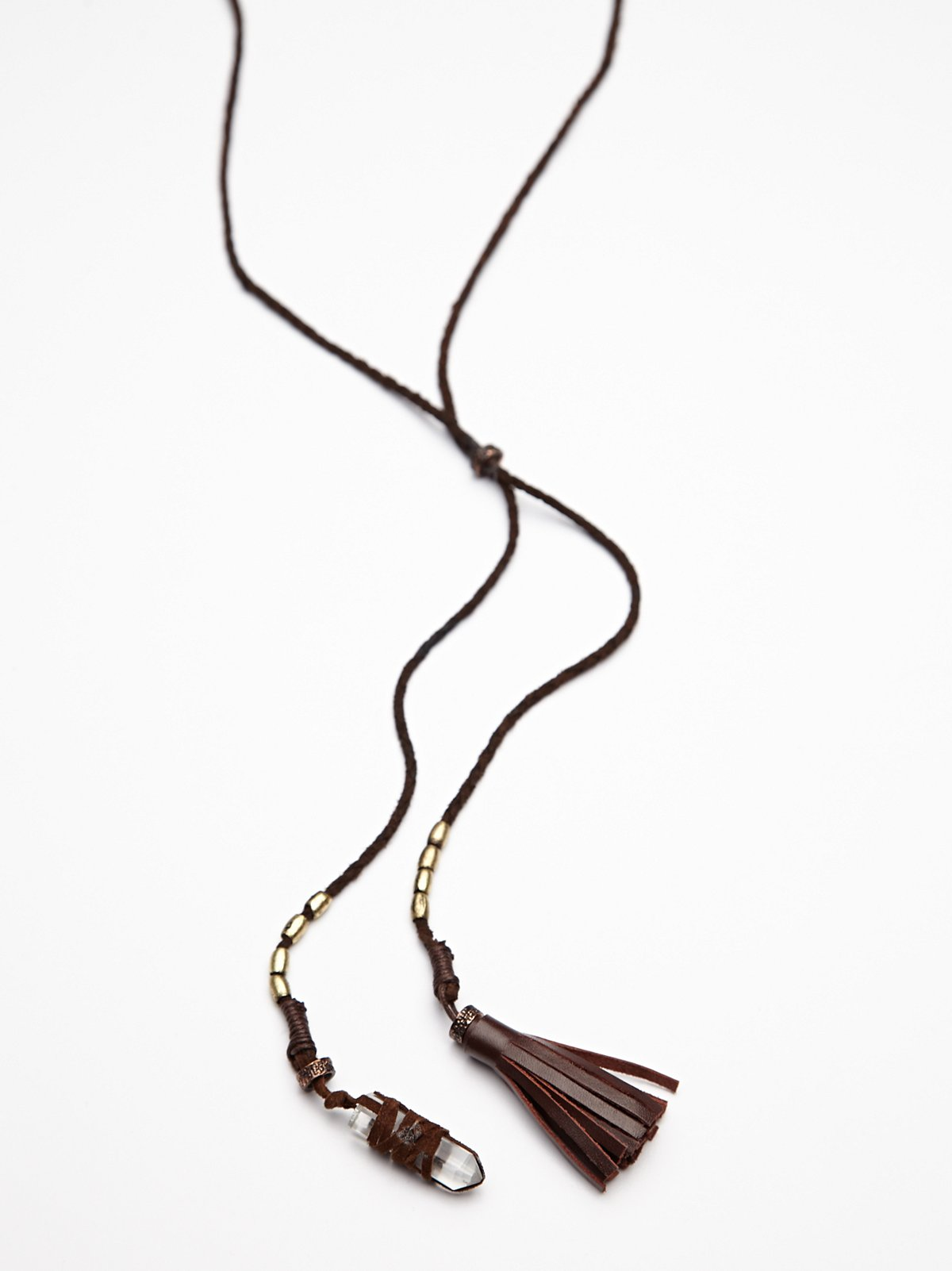 Charm and Tassel Bolo