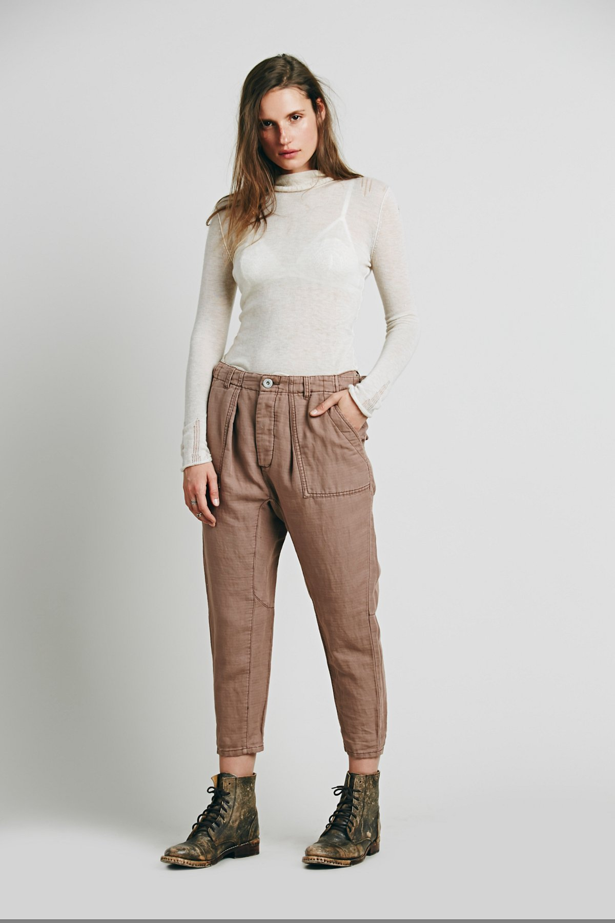 Knox Cropped Utility Pant