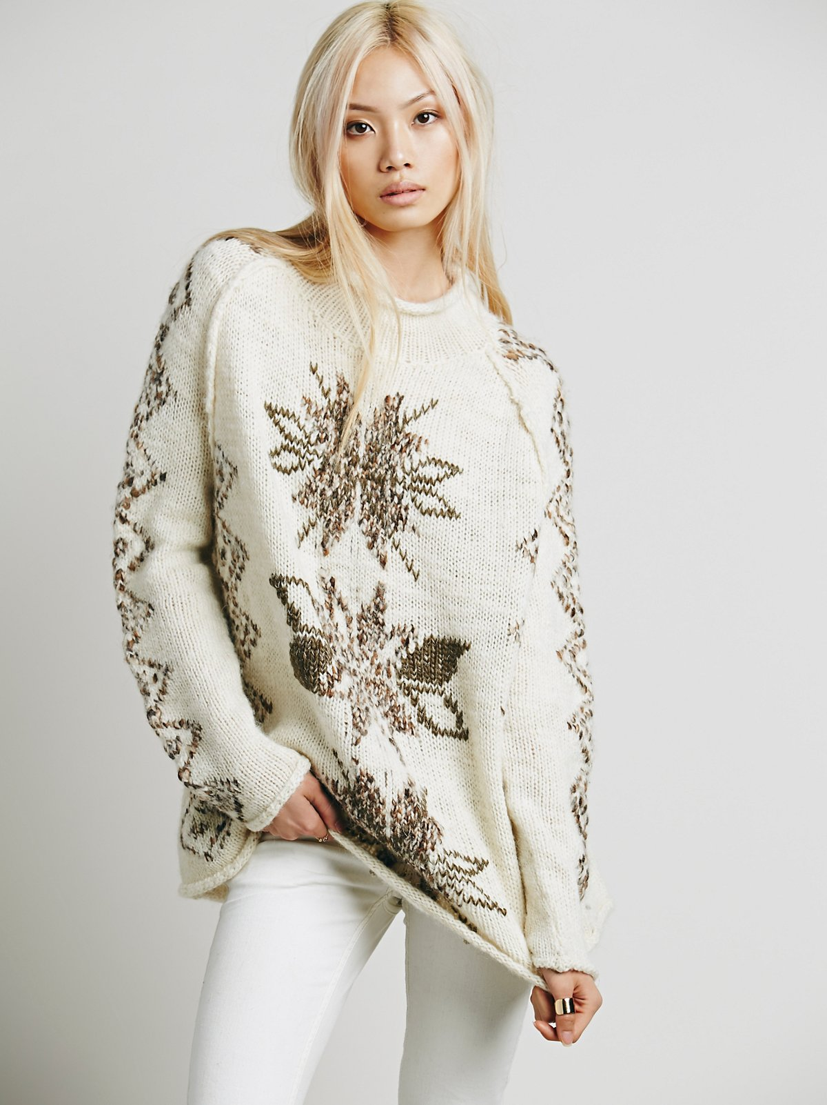 Snowflake Reflection Pullover