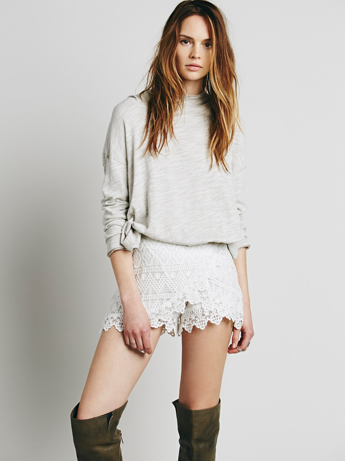 Love Light Lace Skort