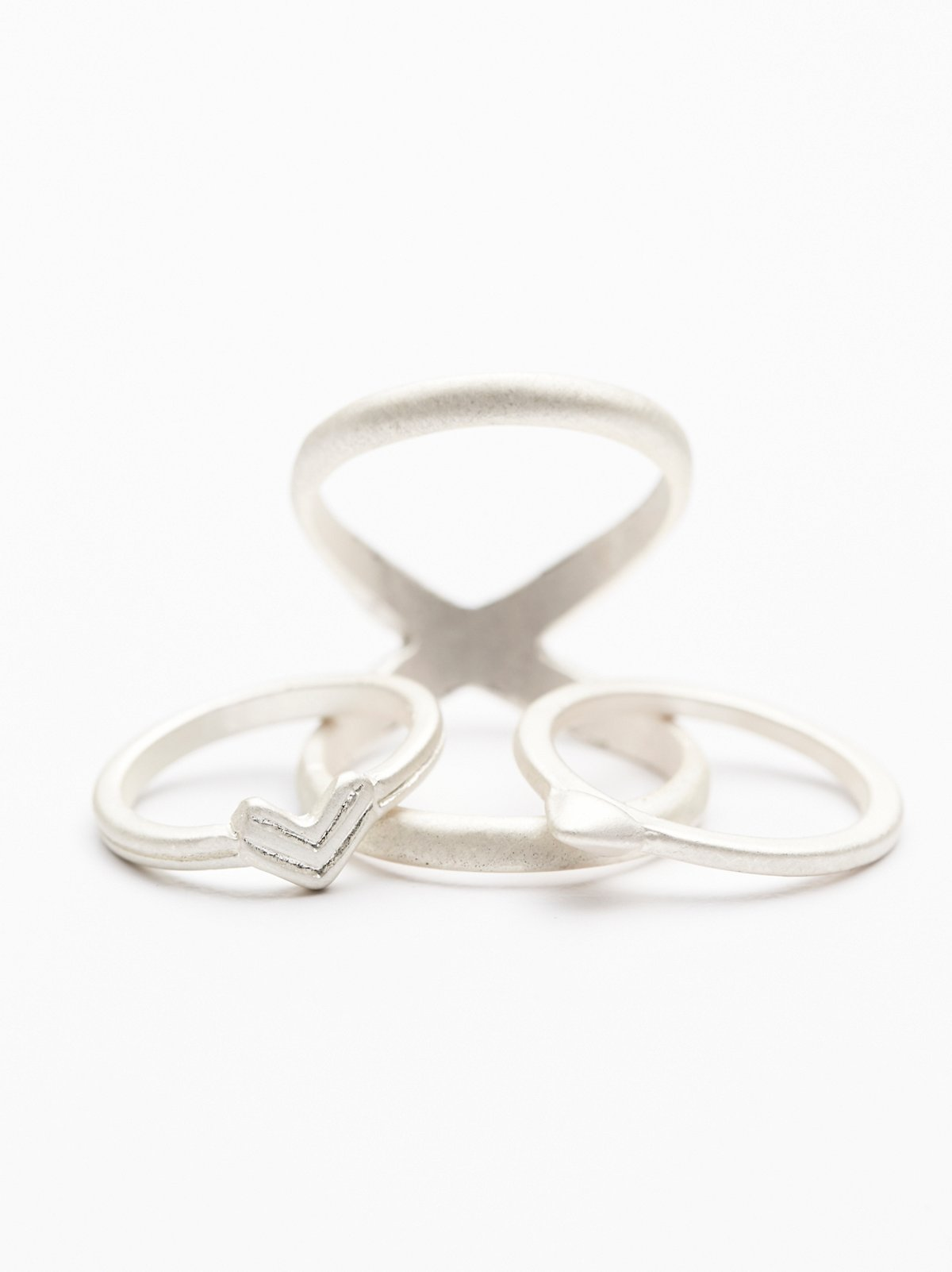 Matte Metal Ring Set