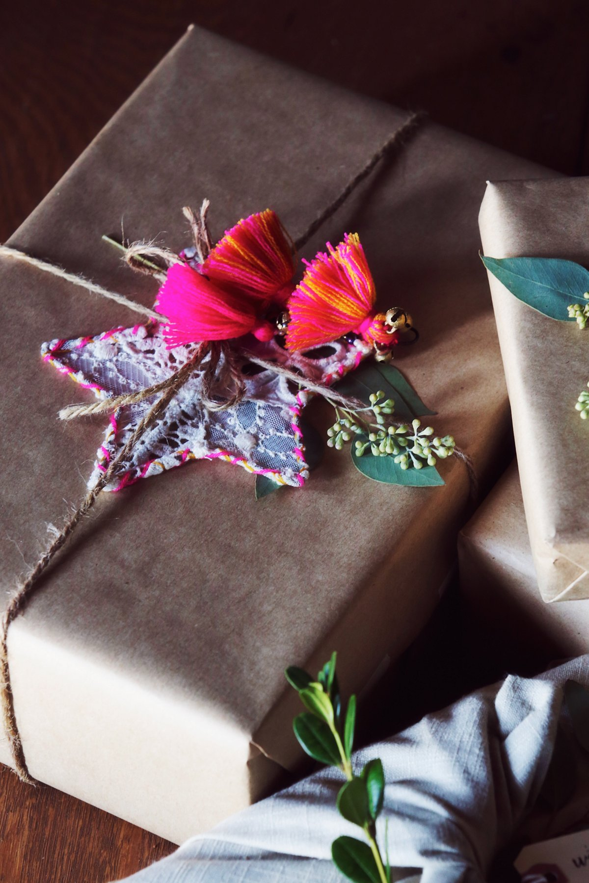 Little Star Lace Ornament