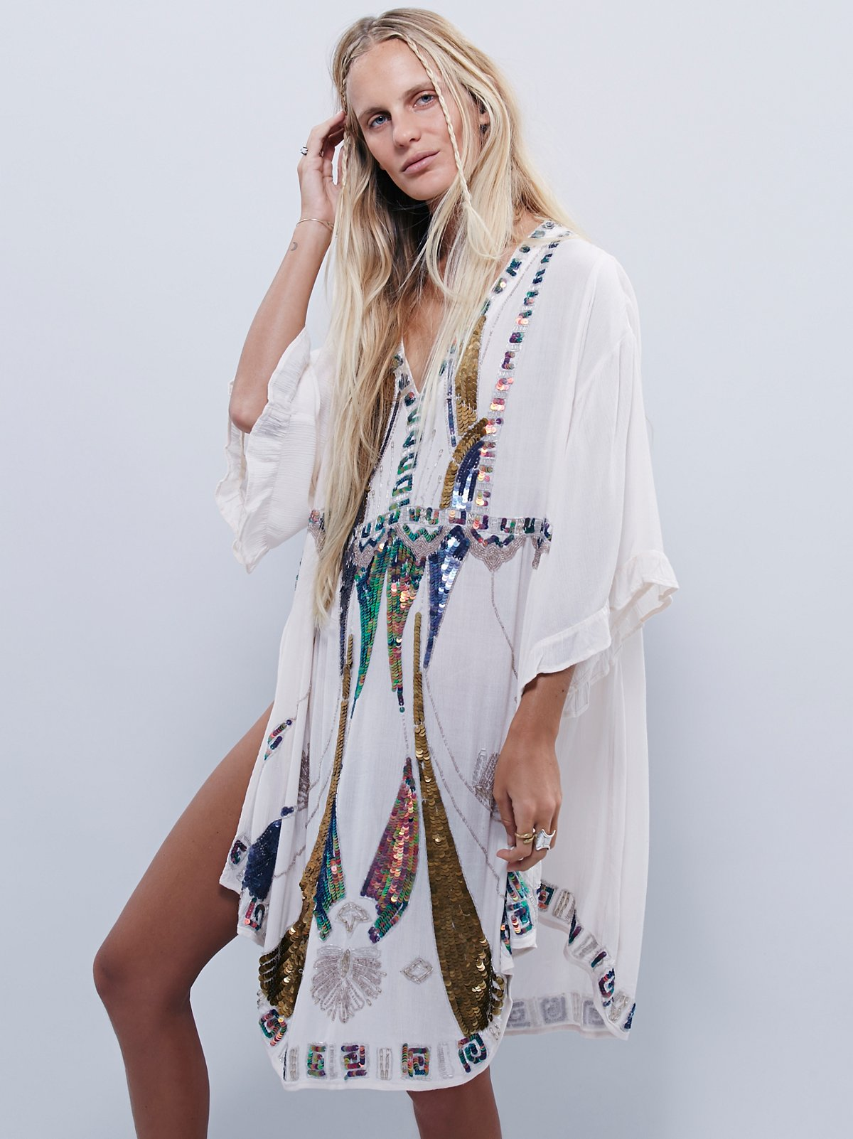 Wild Heart Sequin Kaftan