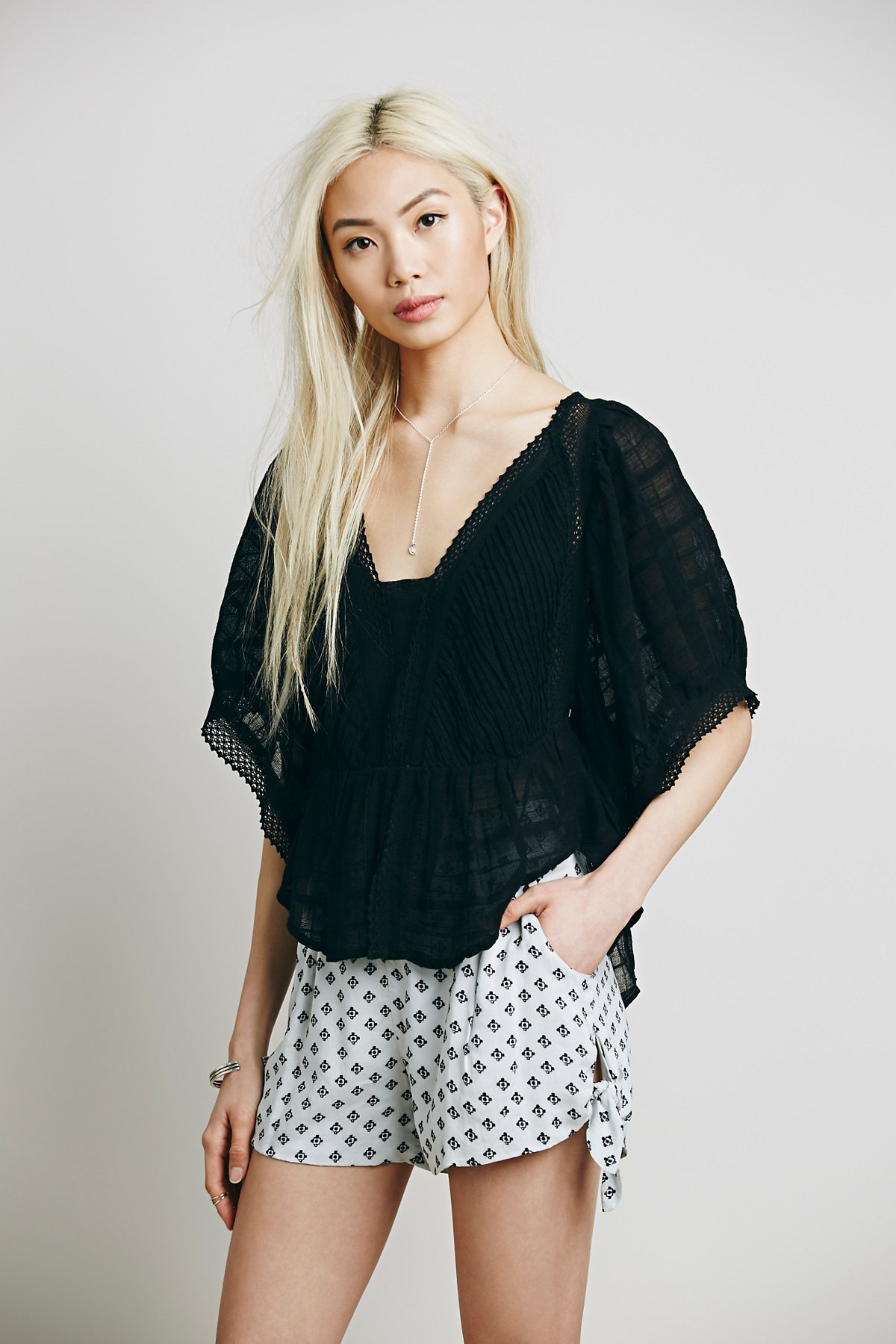 New Romantics Maya Peasant Blouse