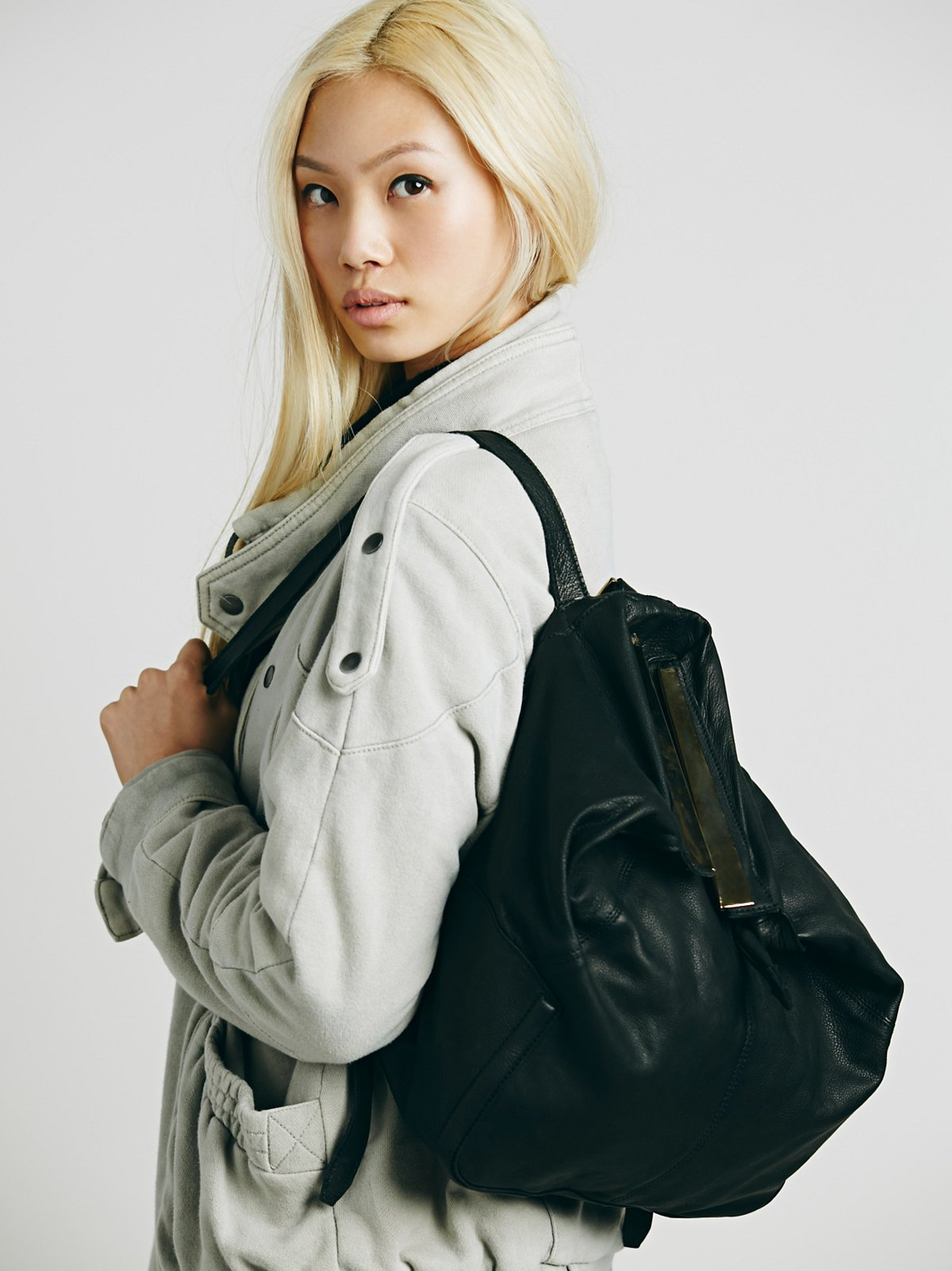 Drea Leather Backpack