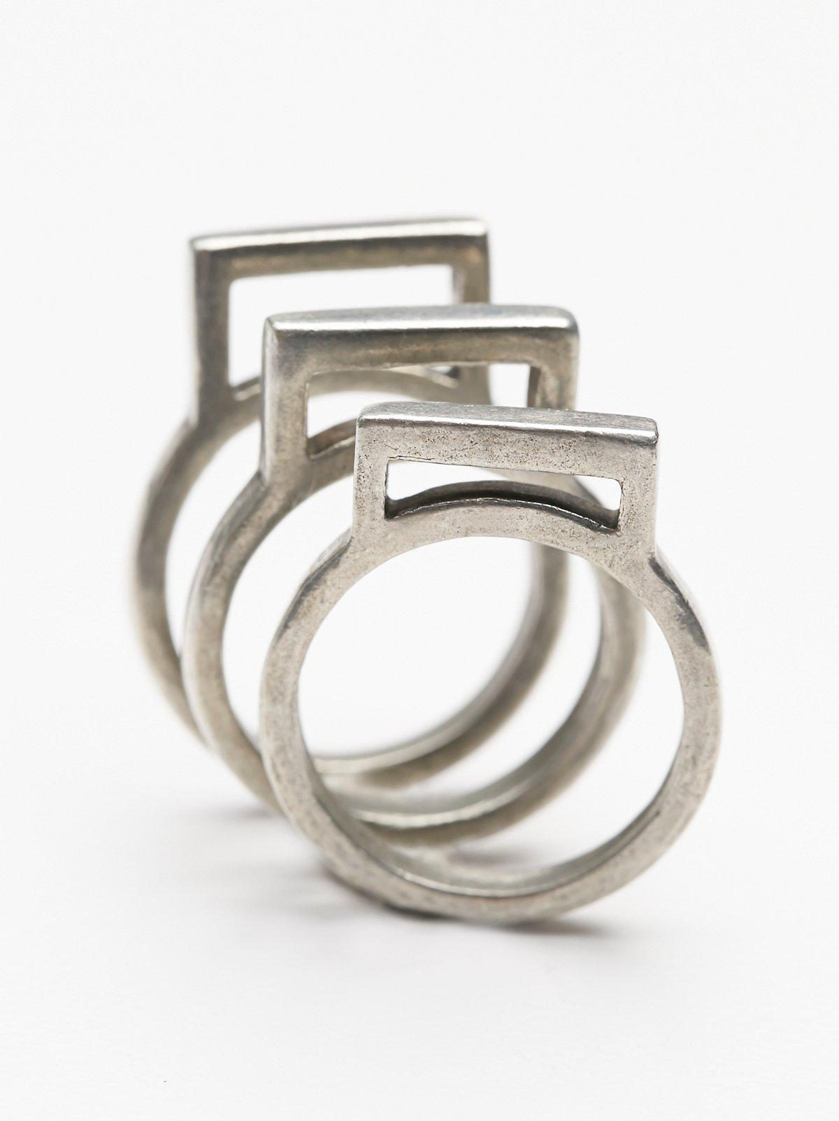 Square Ring Set