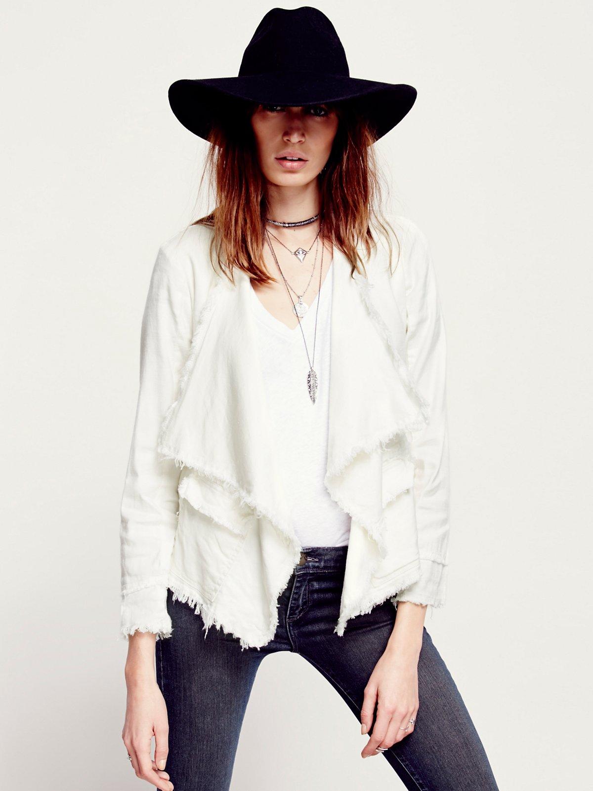 Raw Femme Linen Jacket