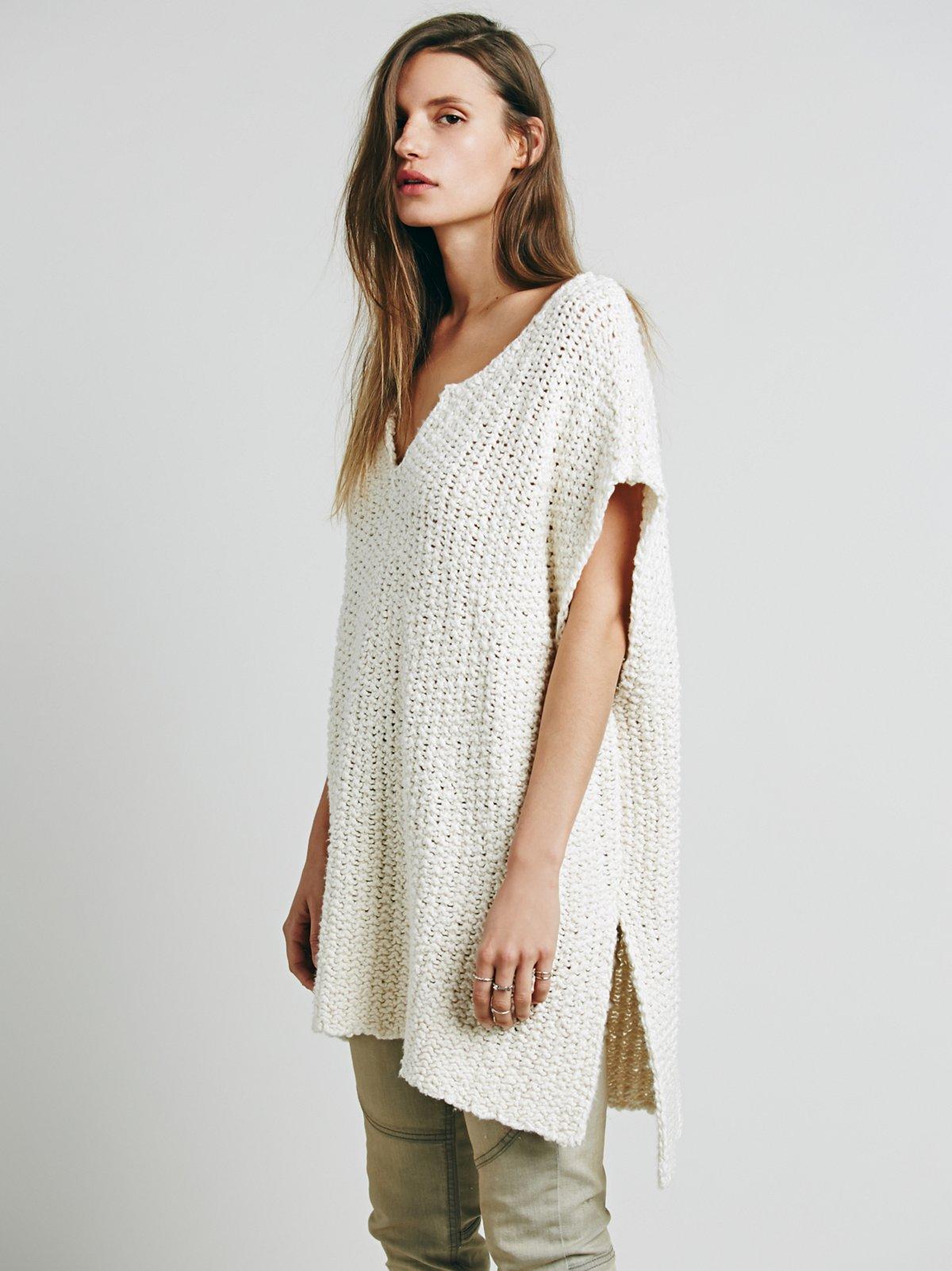 Split Neck Pullover