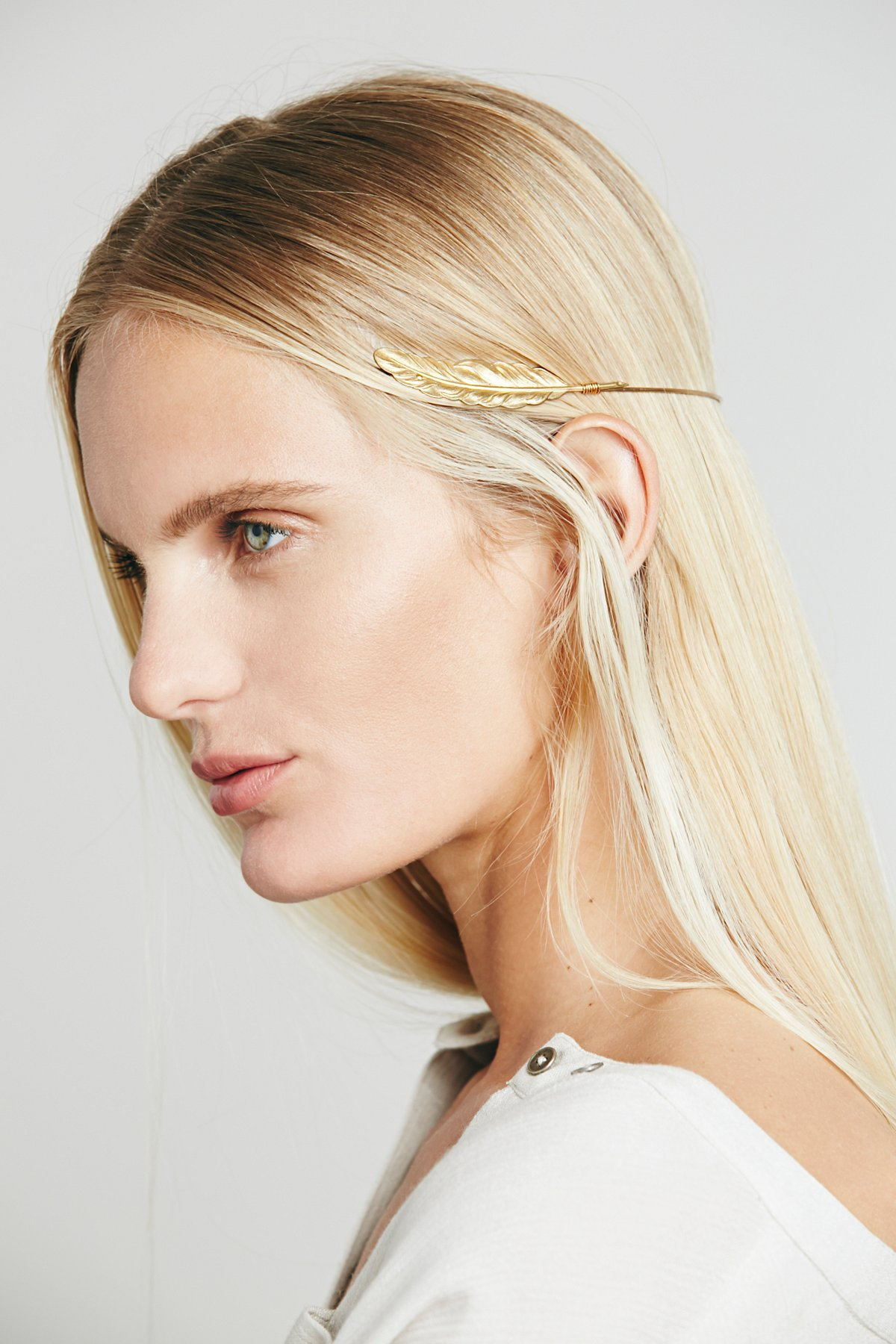 Bohemia Feather Headpiece