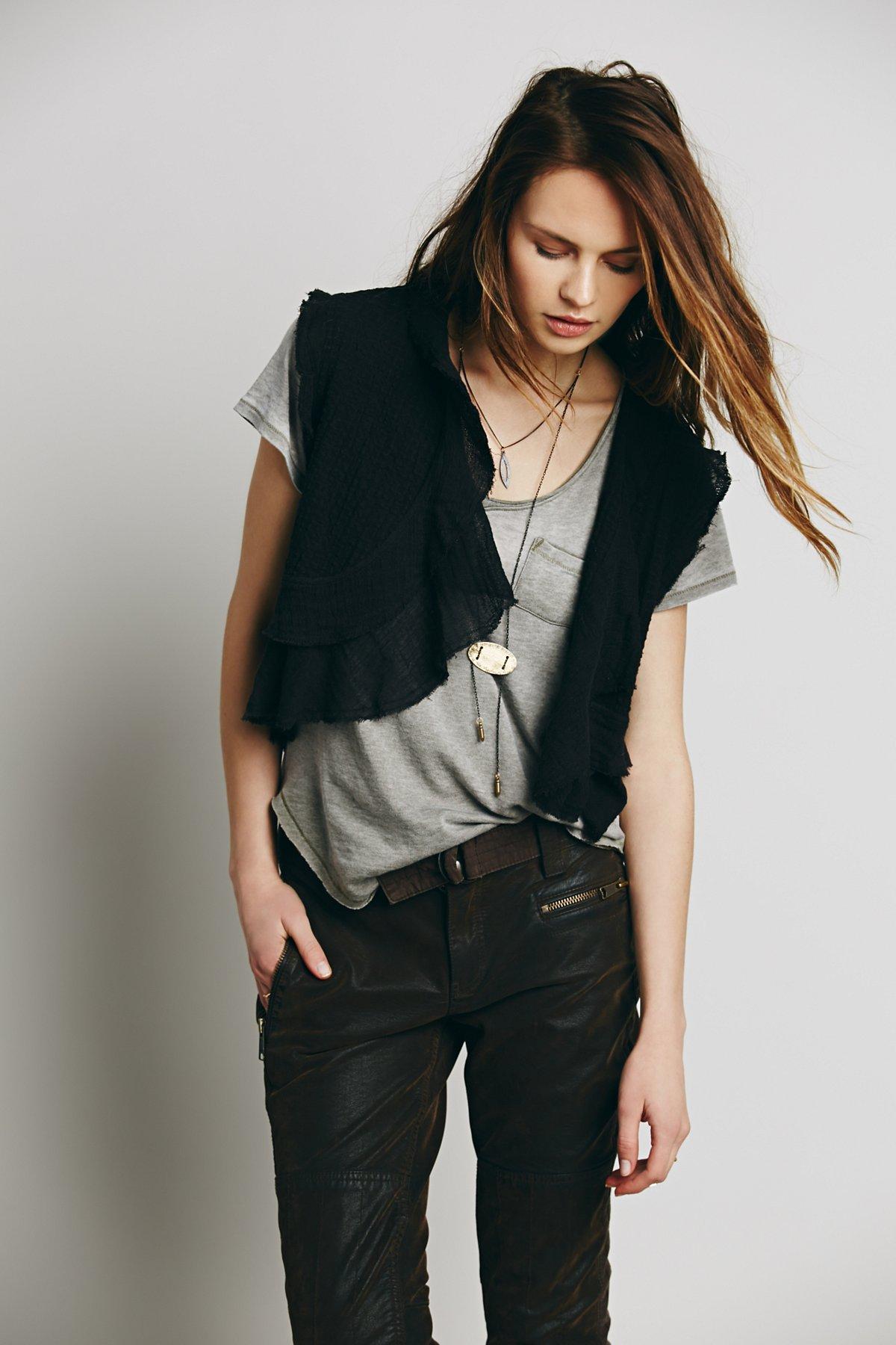Textured Soft Vest
