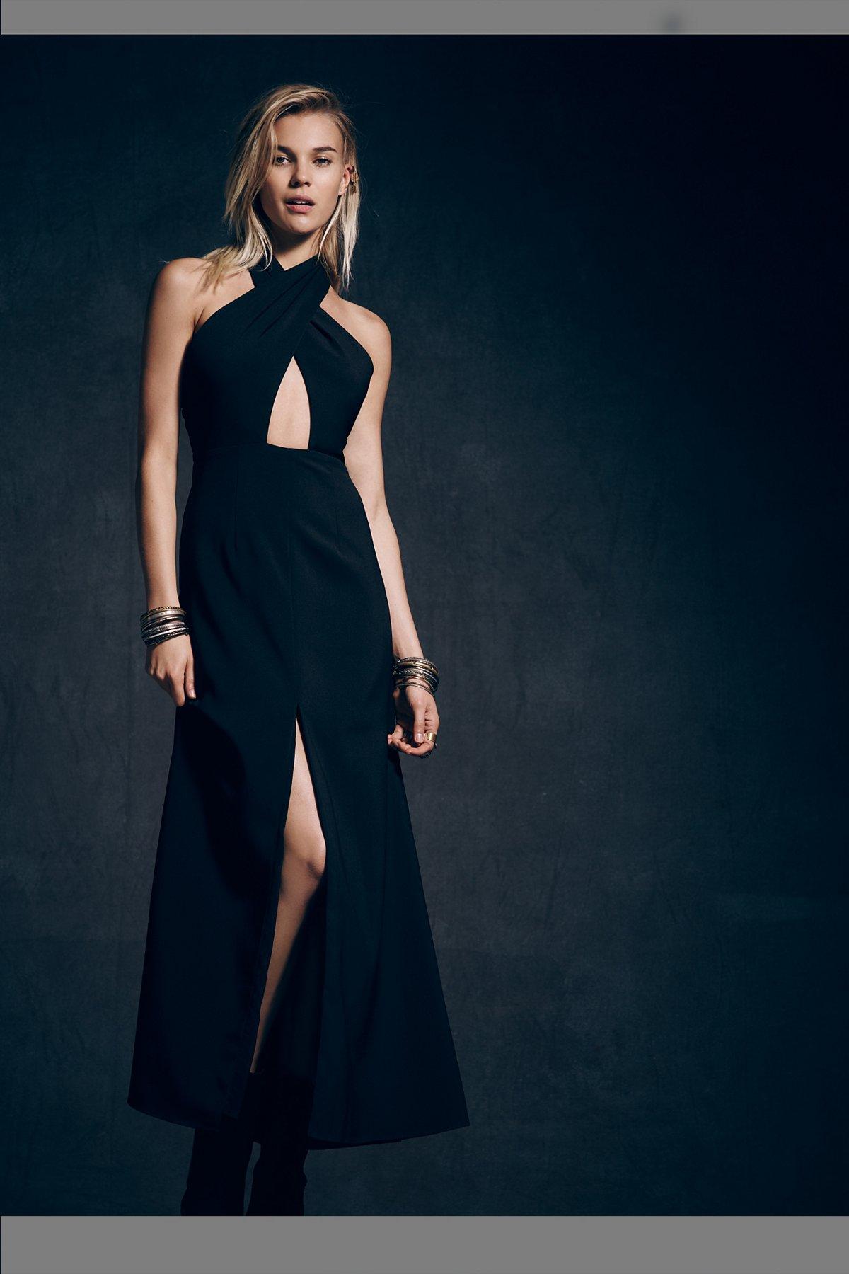 Cutout Maxi Dress