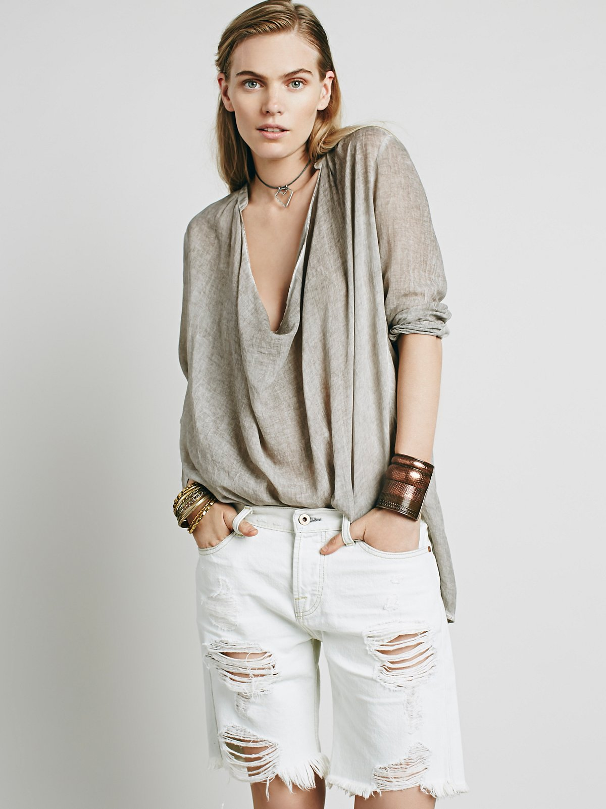 Bryant Distressed Cut Off