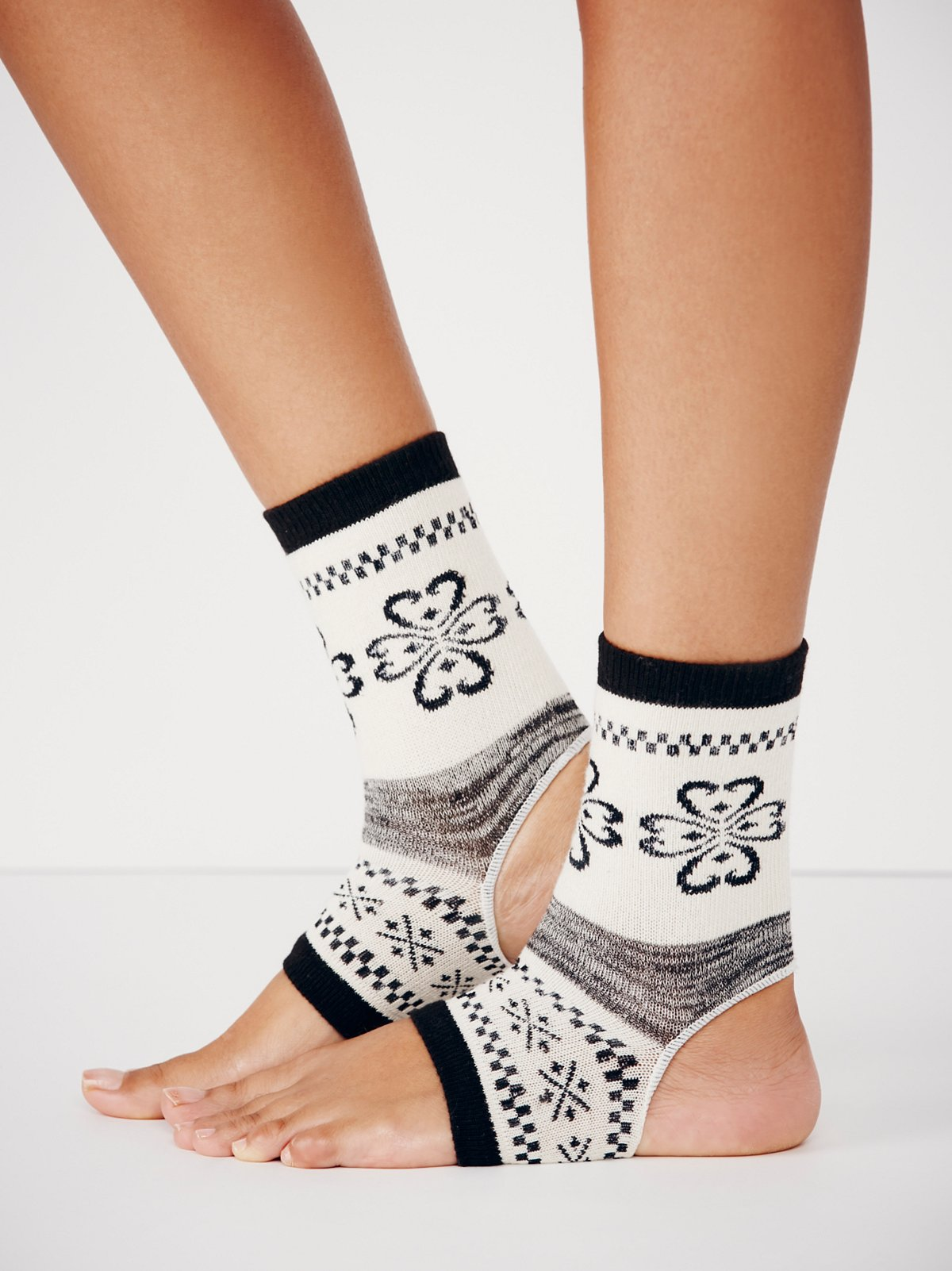 Feet First Yoga Sock