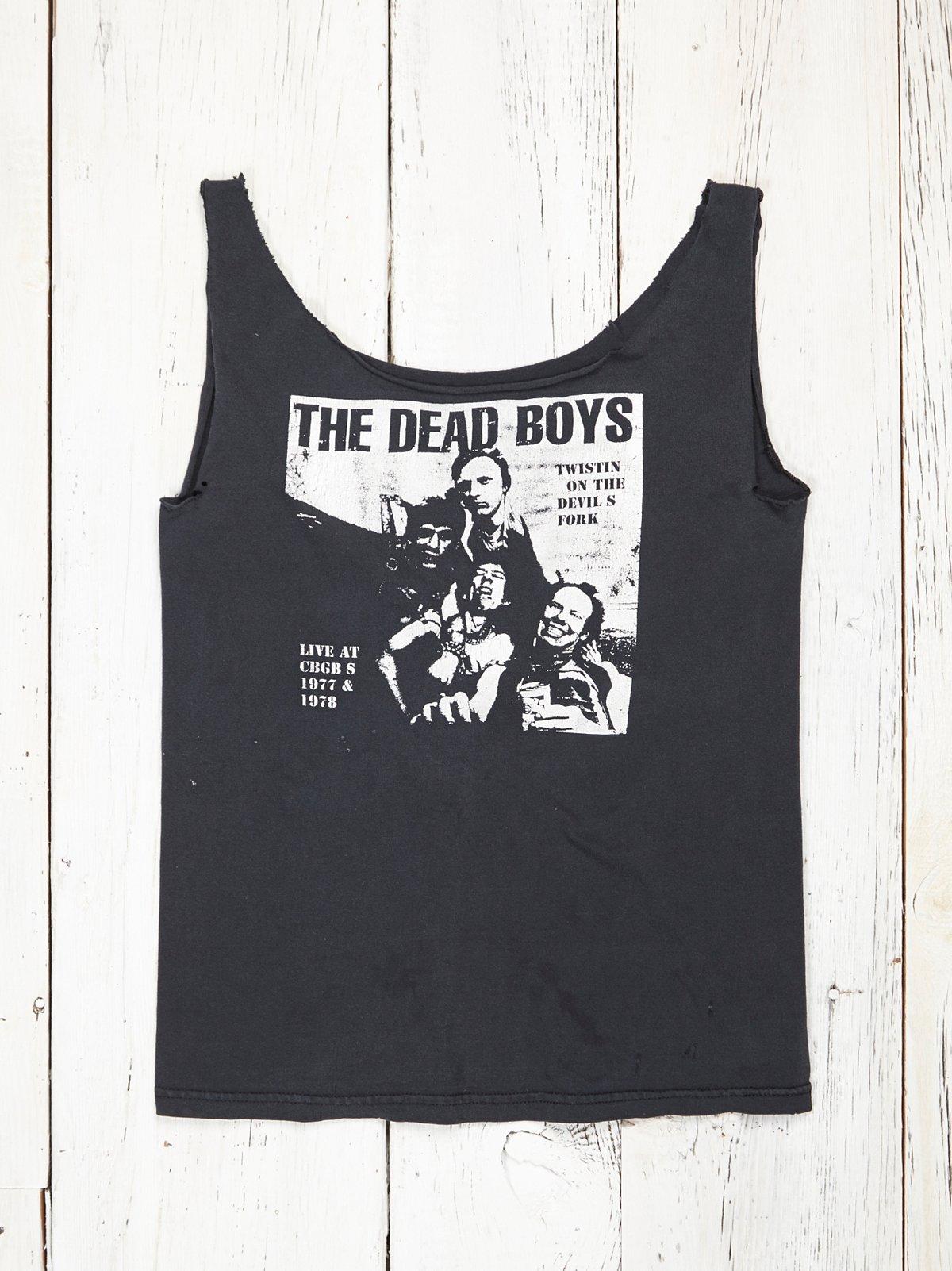 Vintage Dead Boys Band Tee