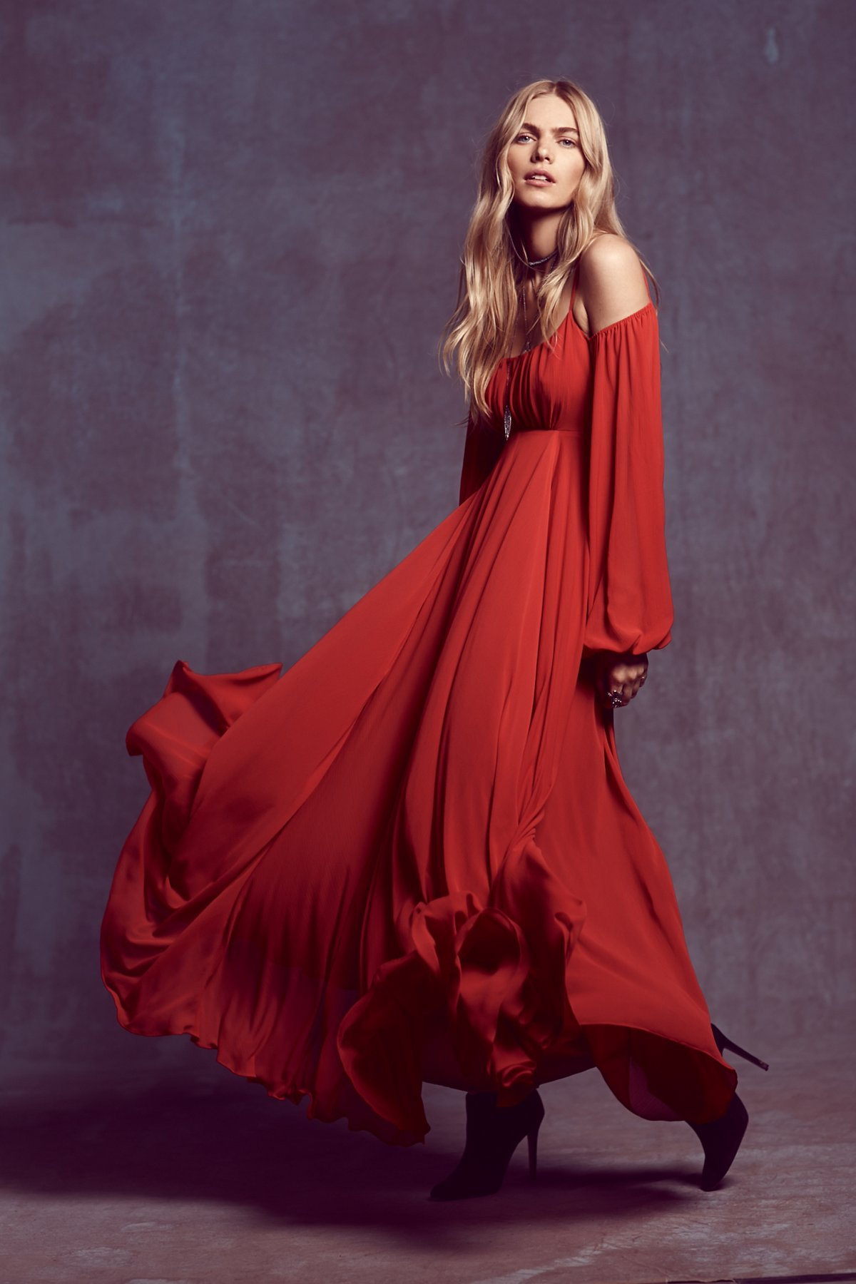 Ruby Red Sun Maxi