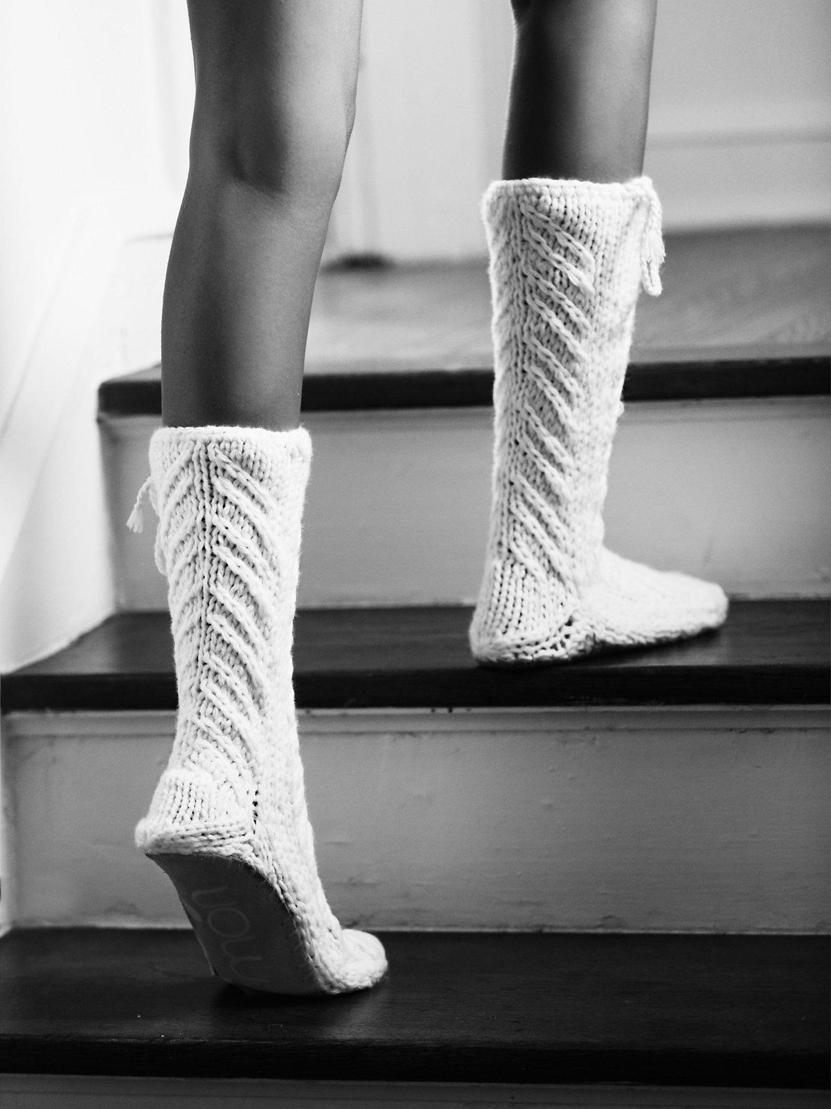Sunday Funday Slipper Sock